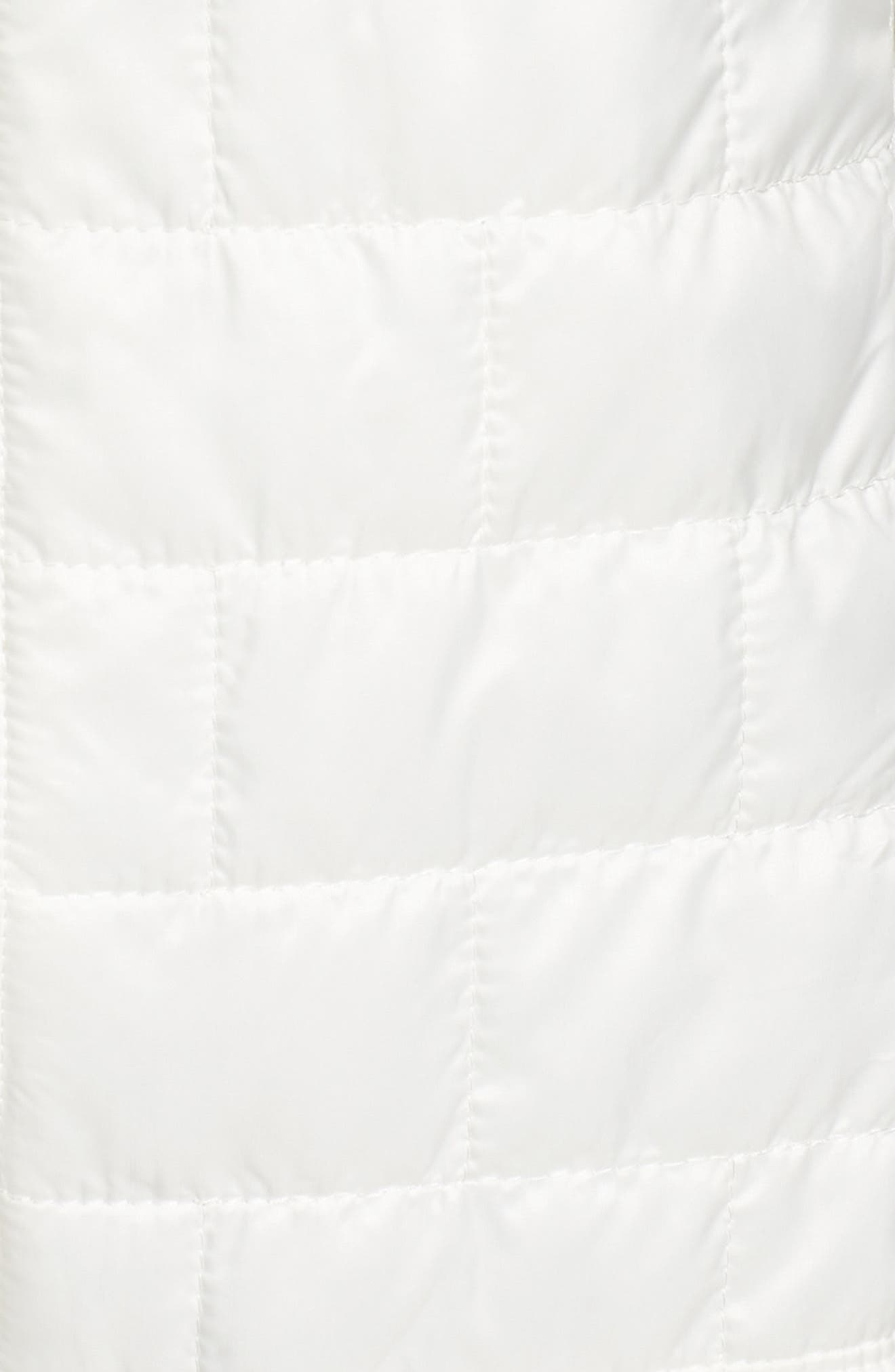 Nano Puff<sup>®</sup> Water Resistant Jacket,                             Alternate thumbnail 6, color,                             Birch White