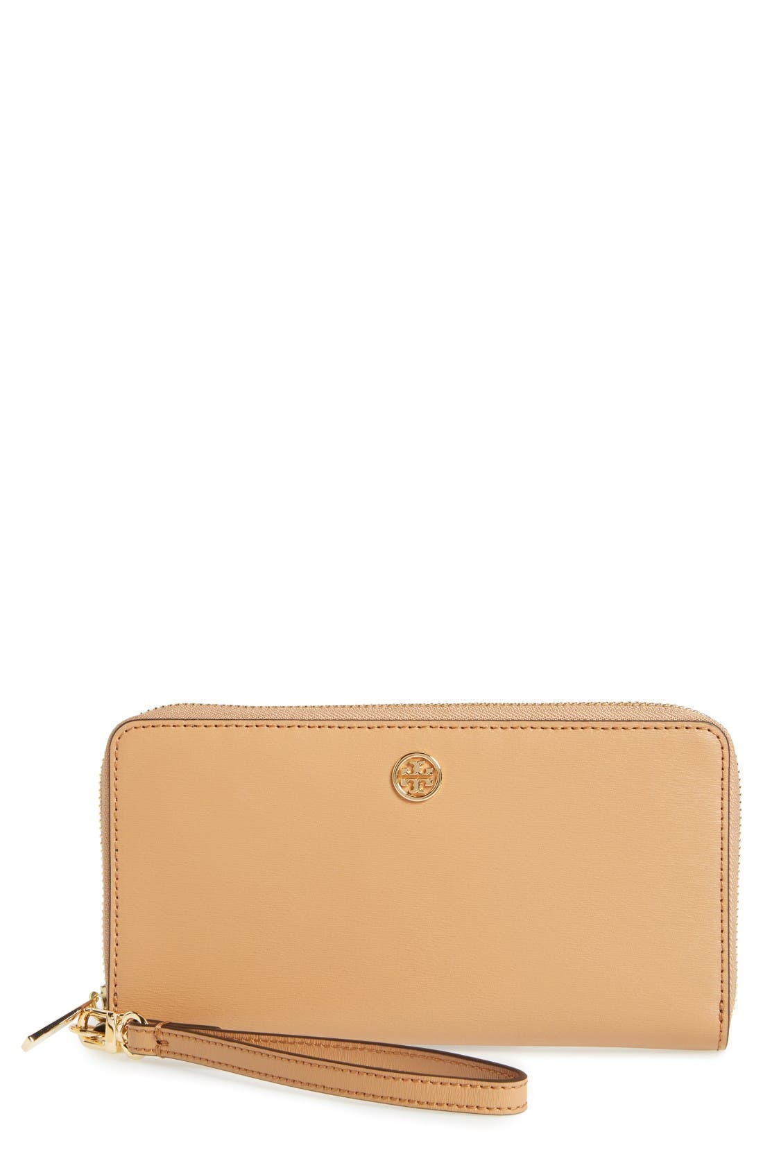 Parker Leather Continental Wallet,                             Main thumbnail 1, color,                             Cardamom