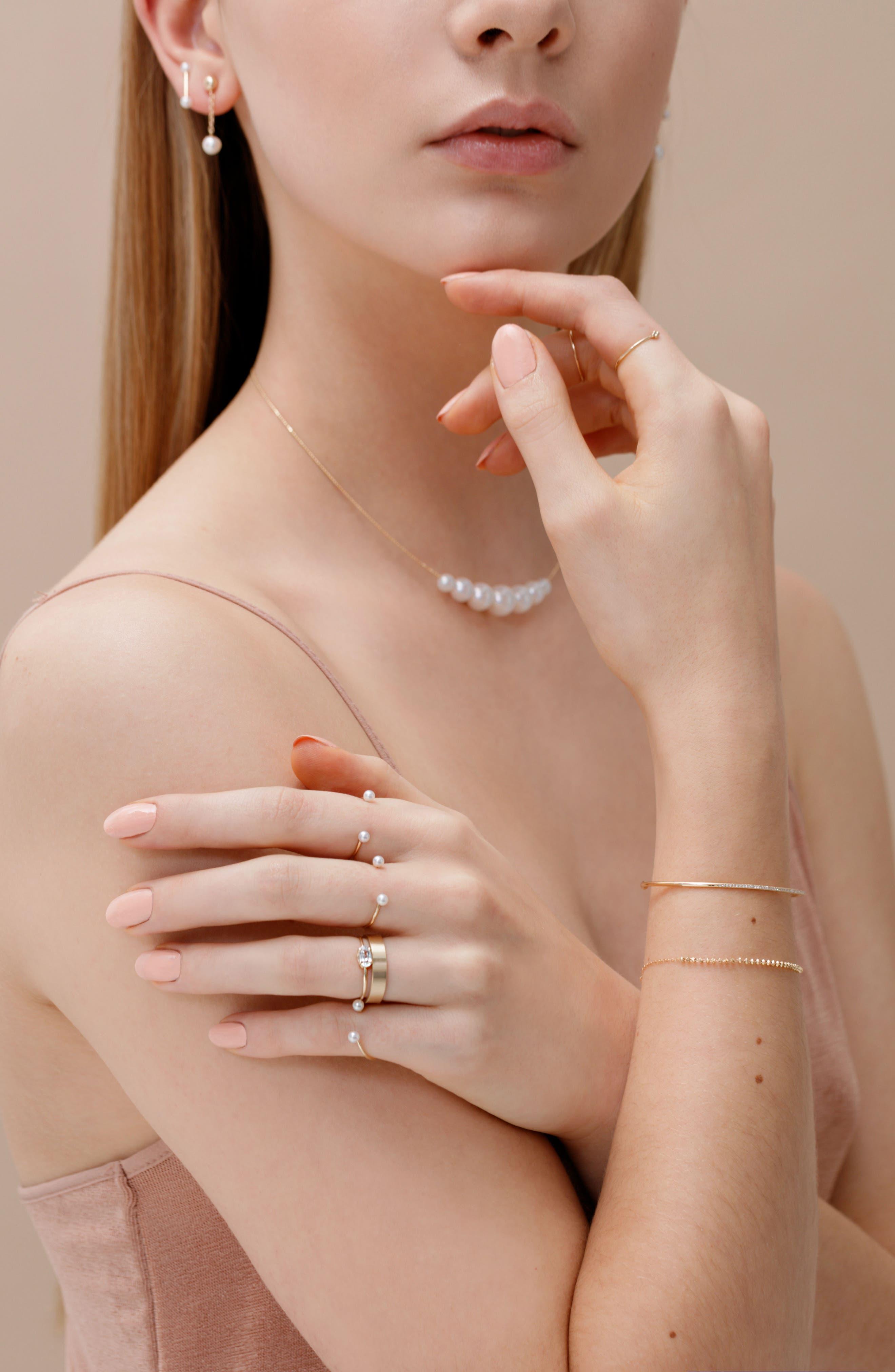 Shimmer Line Bracelet,                             Alternate thumbnail 2, color,                             Yellow Gold