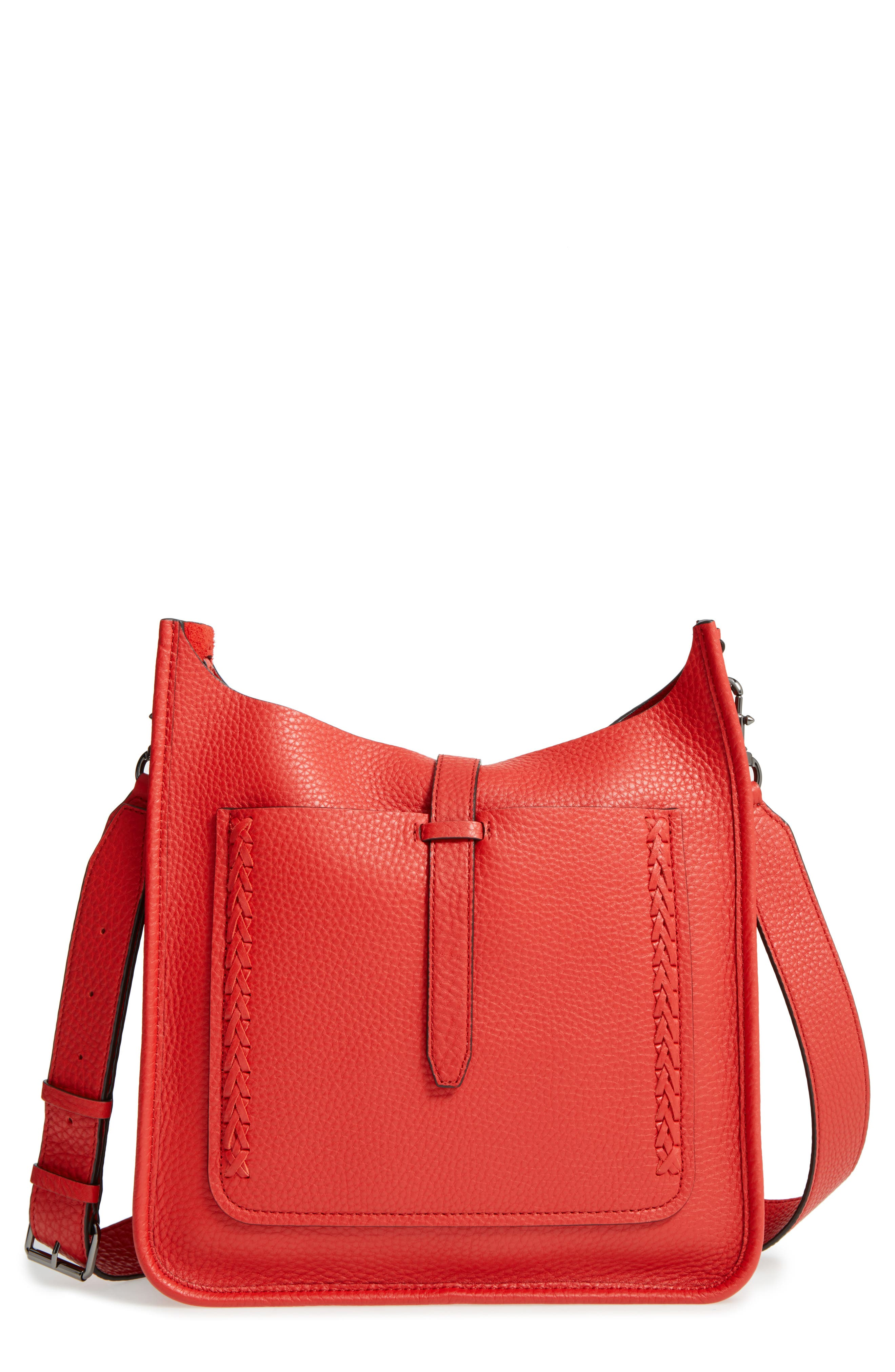 Alternate Image 1 Selected - Rebecca Minkoff Unlined Whipstitch Feed Bag
