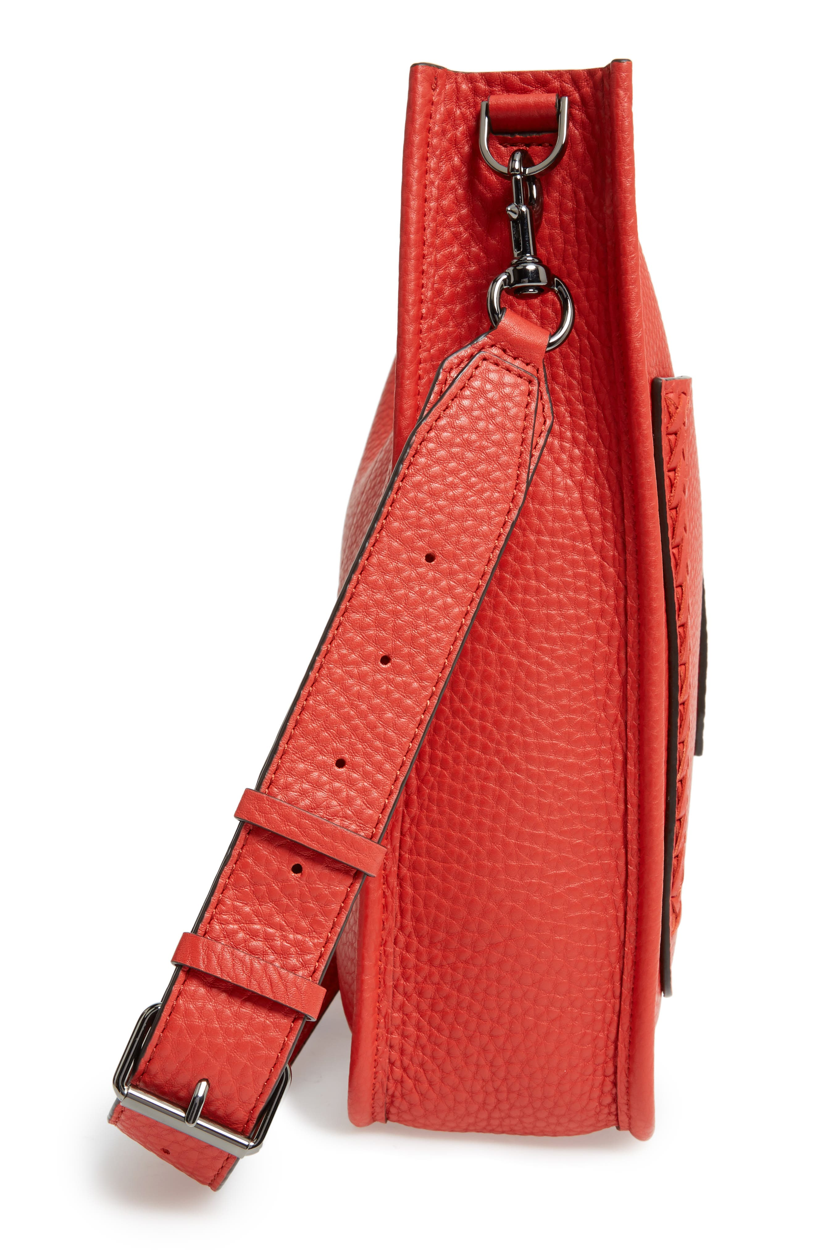 Alternate Image 5  - Rebecca Minkoff Unlined Whipstitch Feed Bag