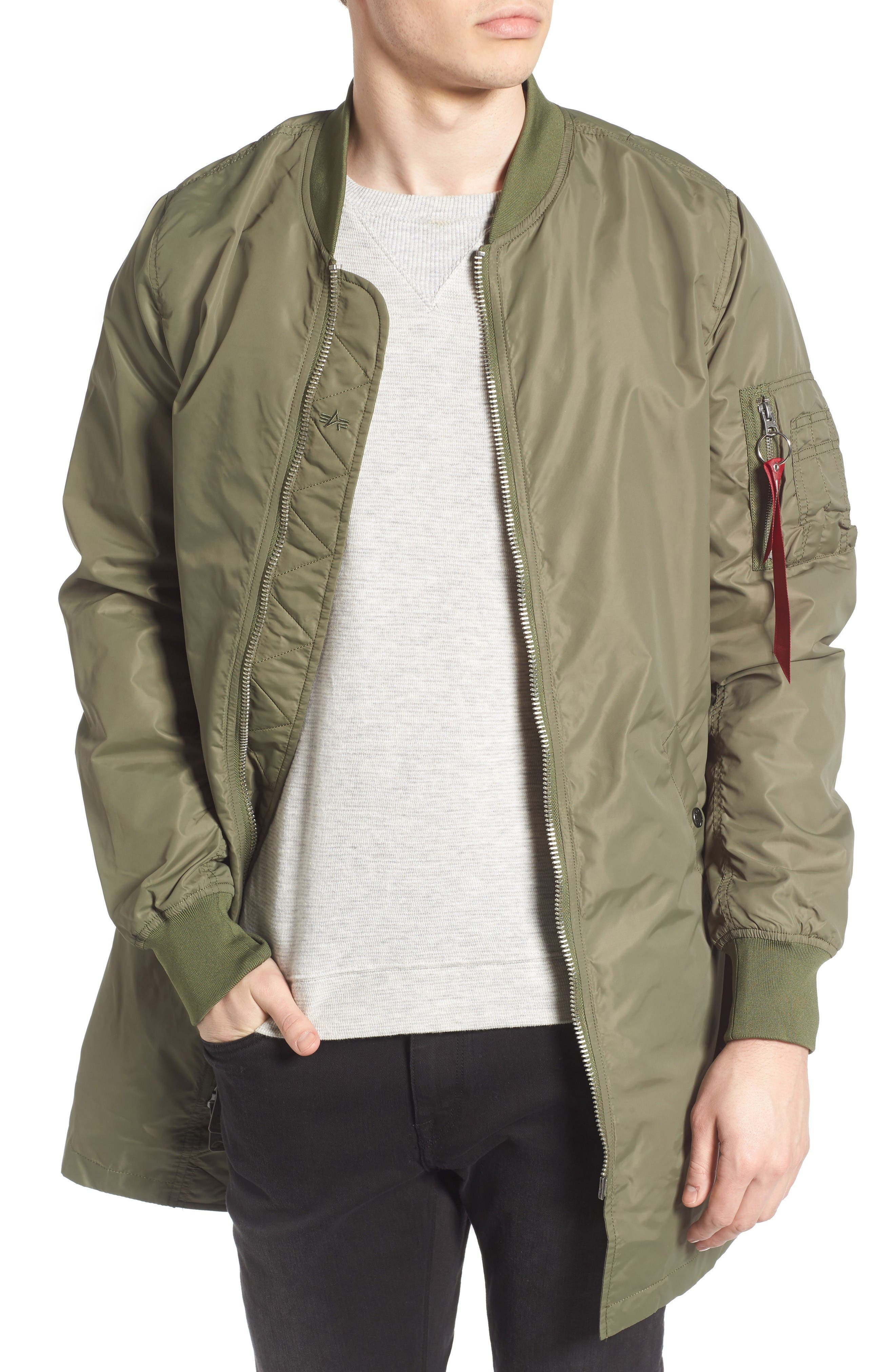 Alpha Industries L-2B Longline Flight Jacket