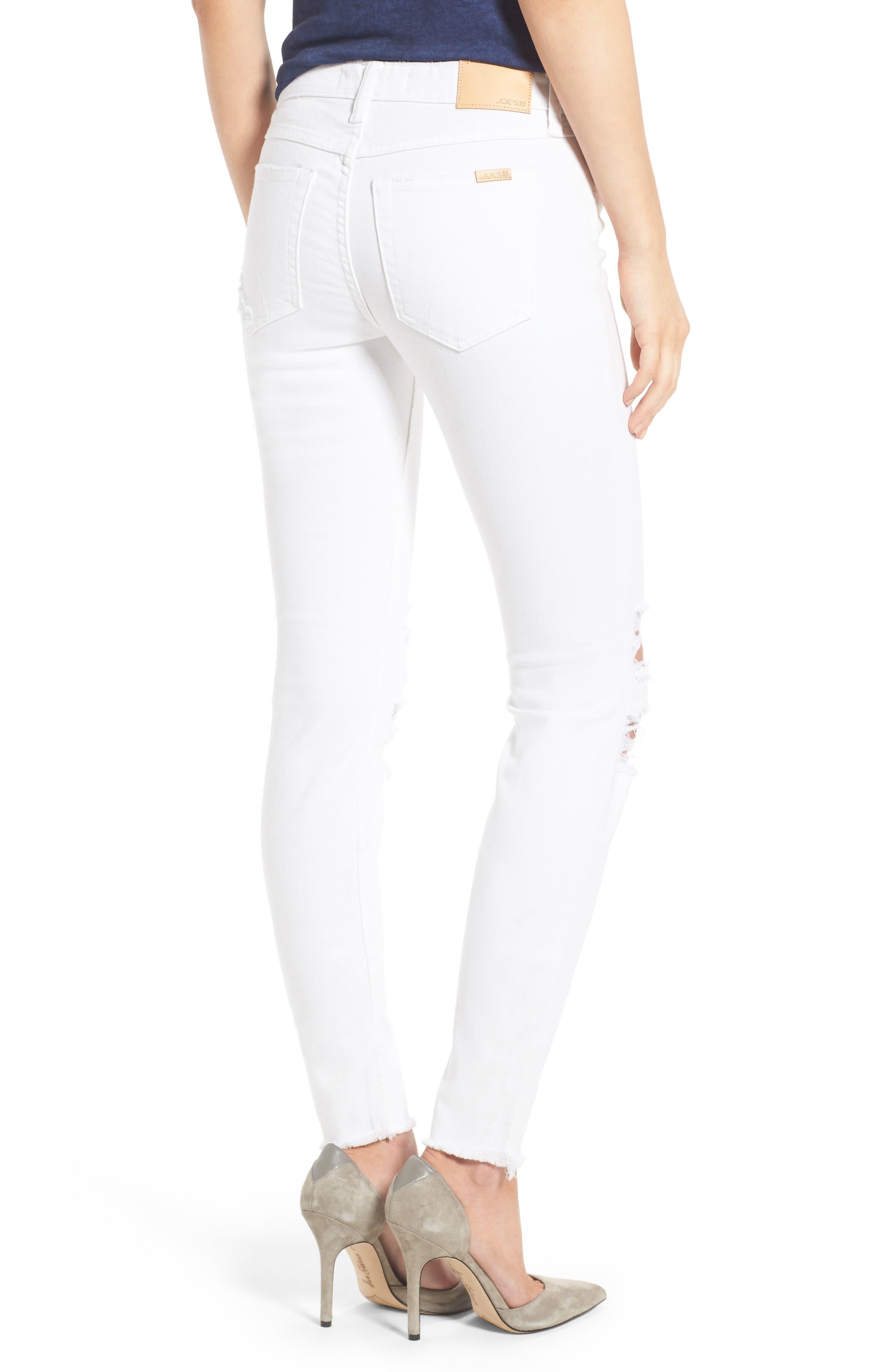 Alternate Image 2  - Joe's Icon Skinny Jeans (Scottie)