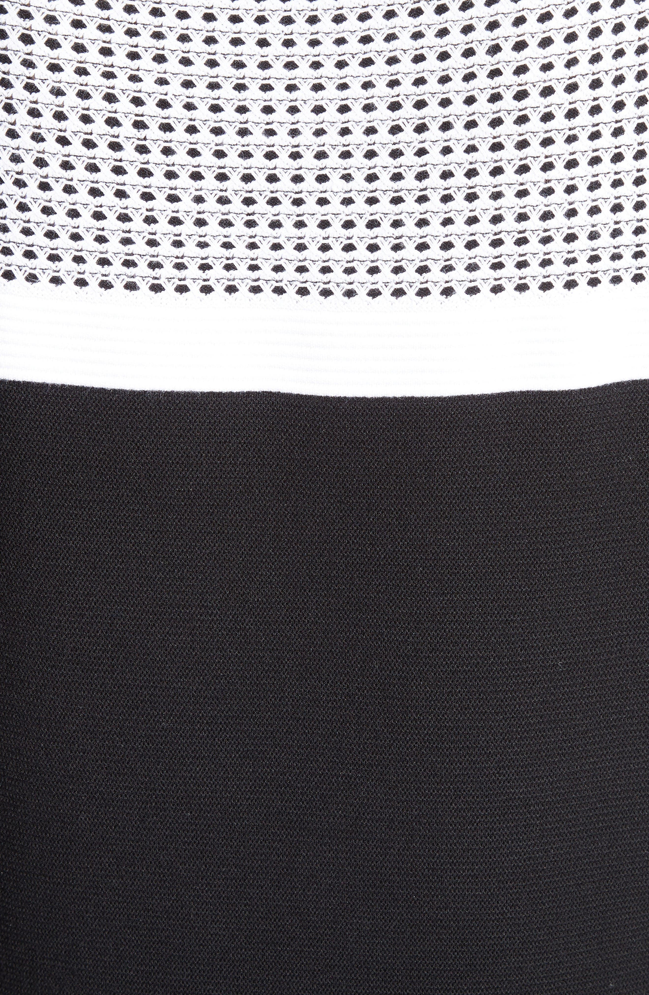 Alternate Image 5  - St. John Collection Technical Mesh Stitch Sweater