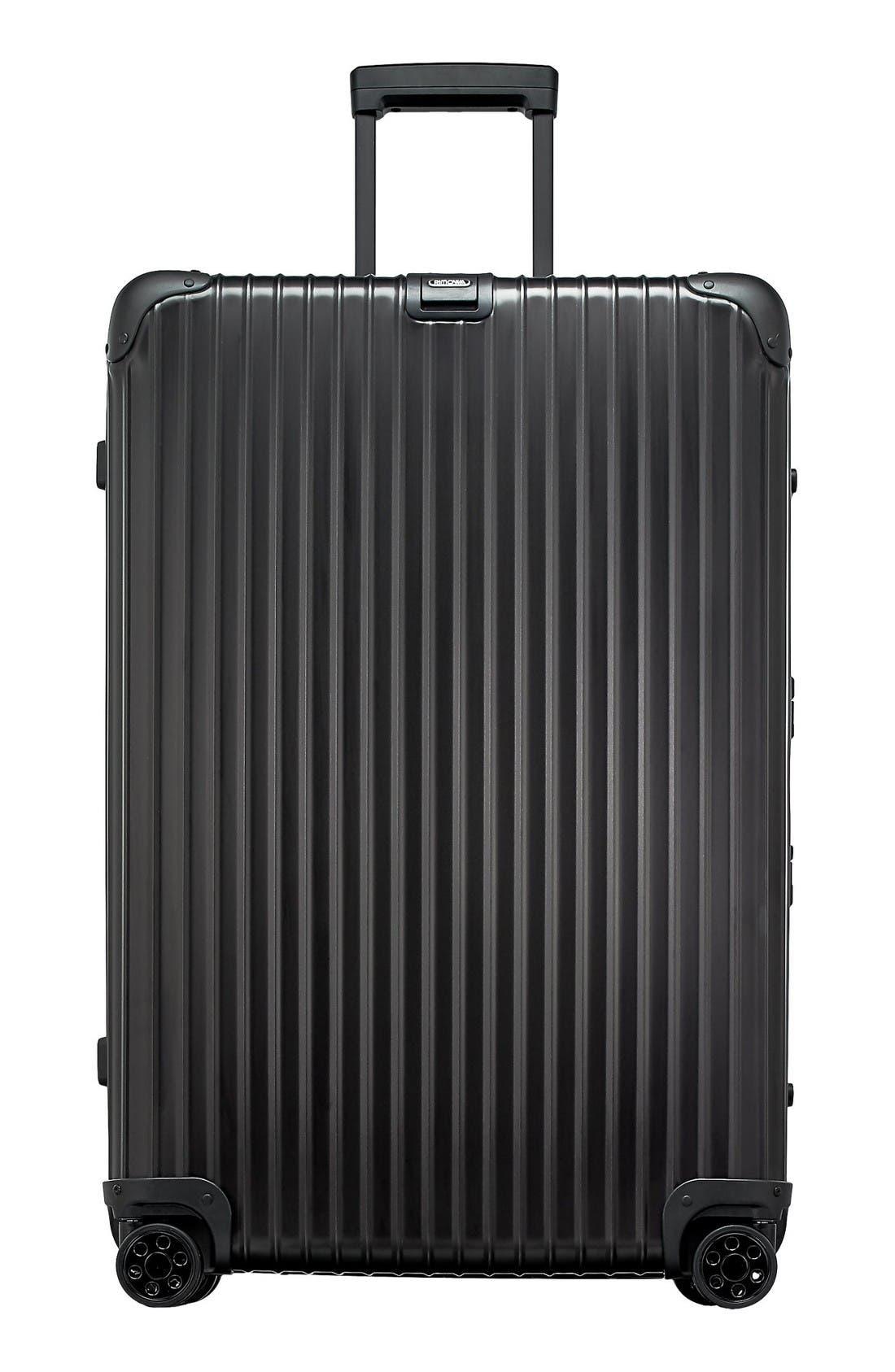 RIMOWA Topas Stealth 32-Inch Multiwheel® Aluminum Packing Case