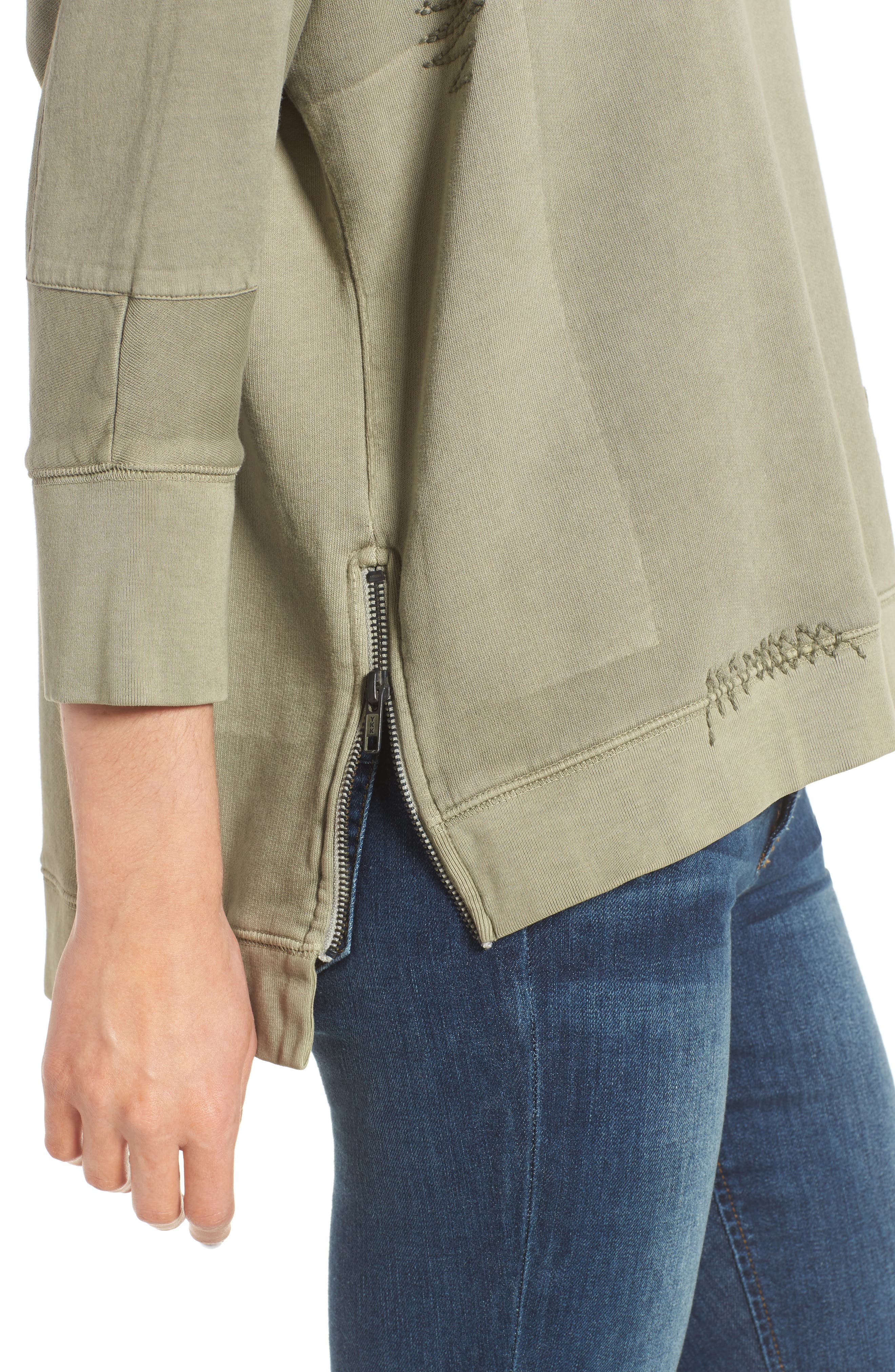 Alternate Image 4  - Zadig & Voltaire Ahina Patch Pullover