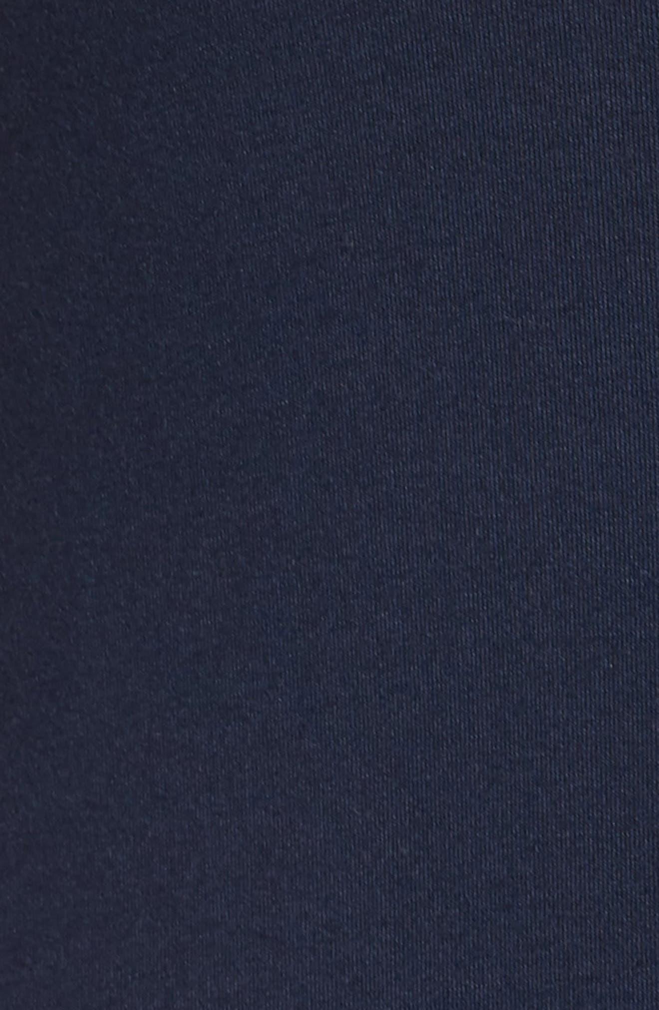 A-Line Maxi Dress,                             Alternate thumbnail 7, color,                             Midnight