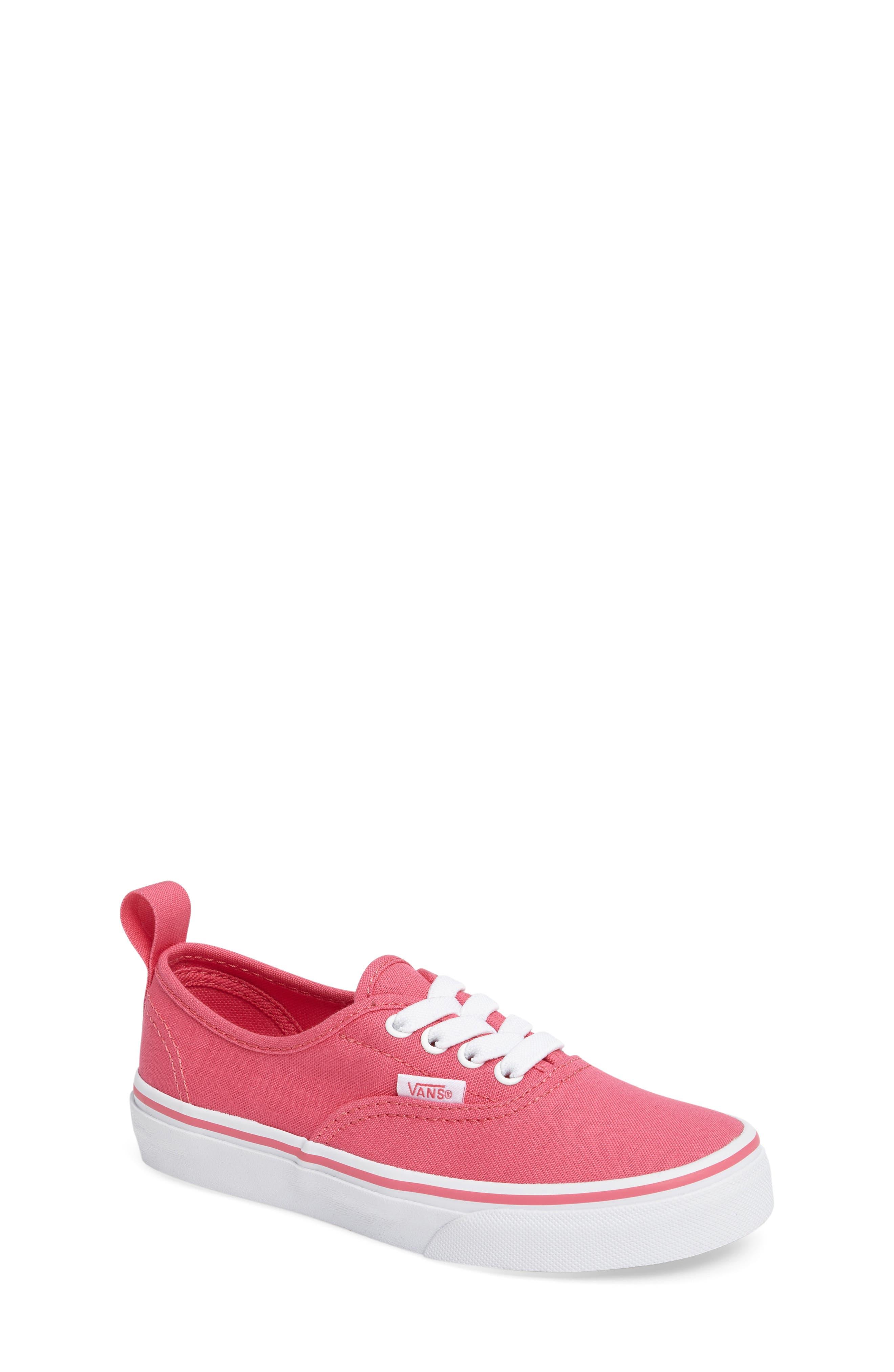 Alternate Image 1 Selected - Vans Authentic Elastic Lace Sneaker (Baby, Walker, Toddler, Little Kid & Big Kid)