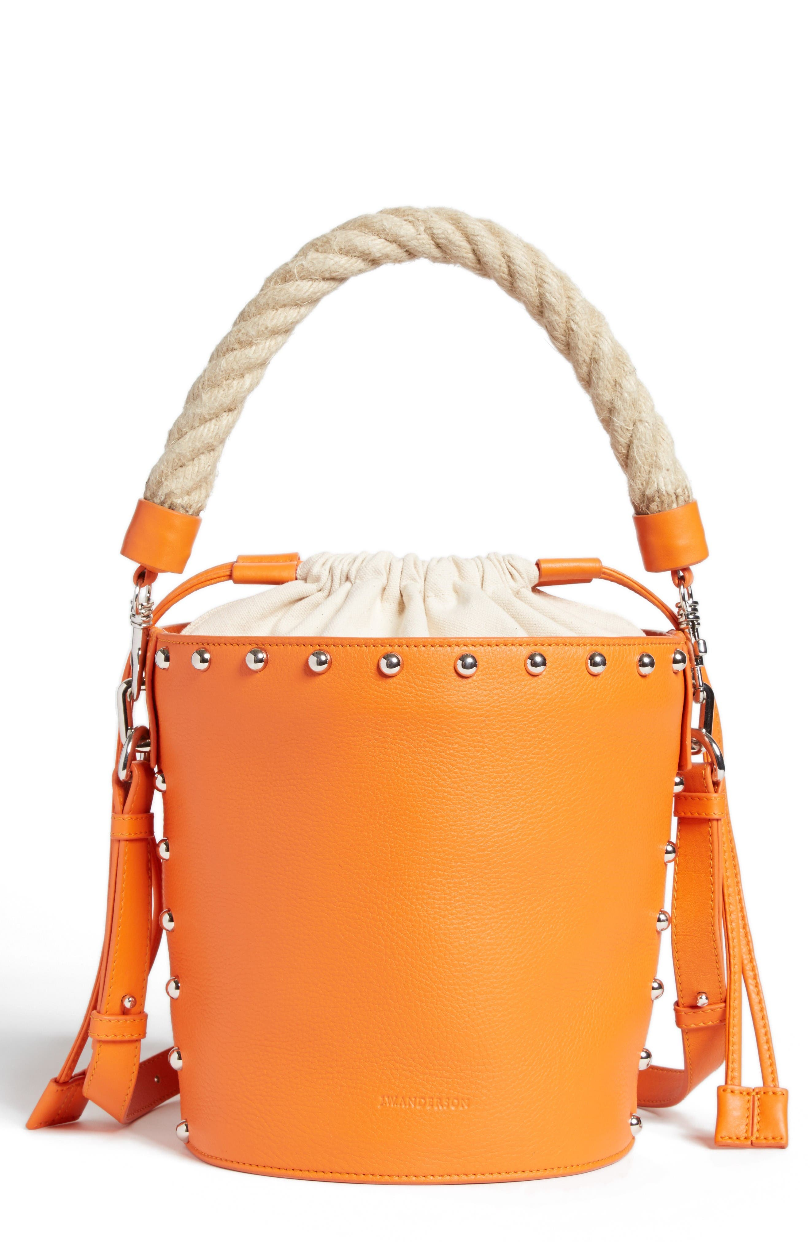 Alternate Image 1 Selected - J.W.ANDERSON Studded Bucket Bag