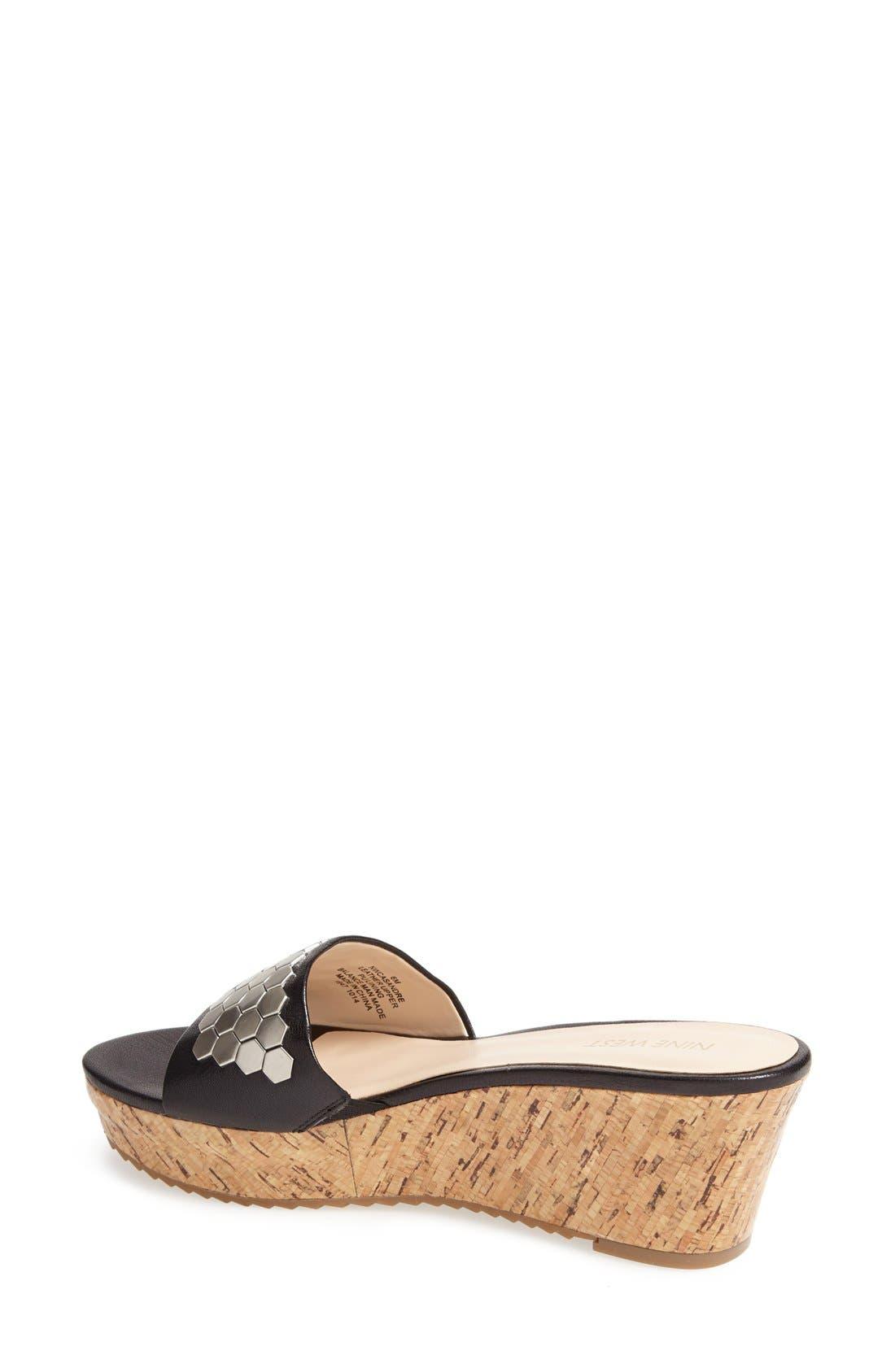 Alternate Image 2  - Nine West 'Casandre' Slide Sandal (Women)