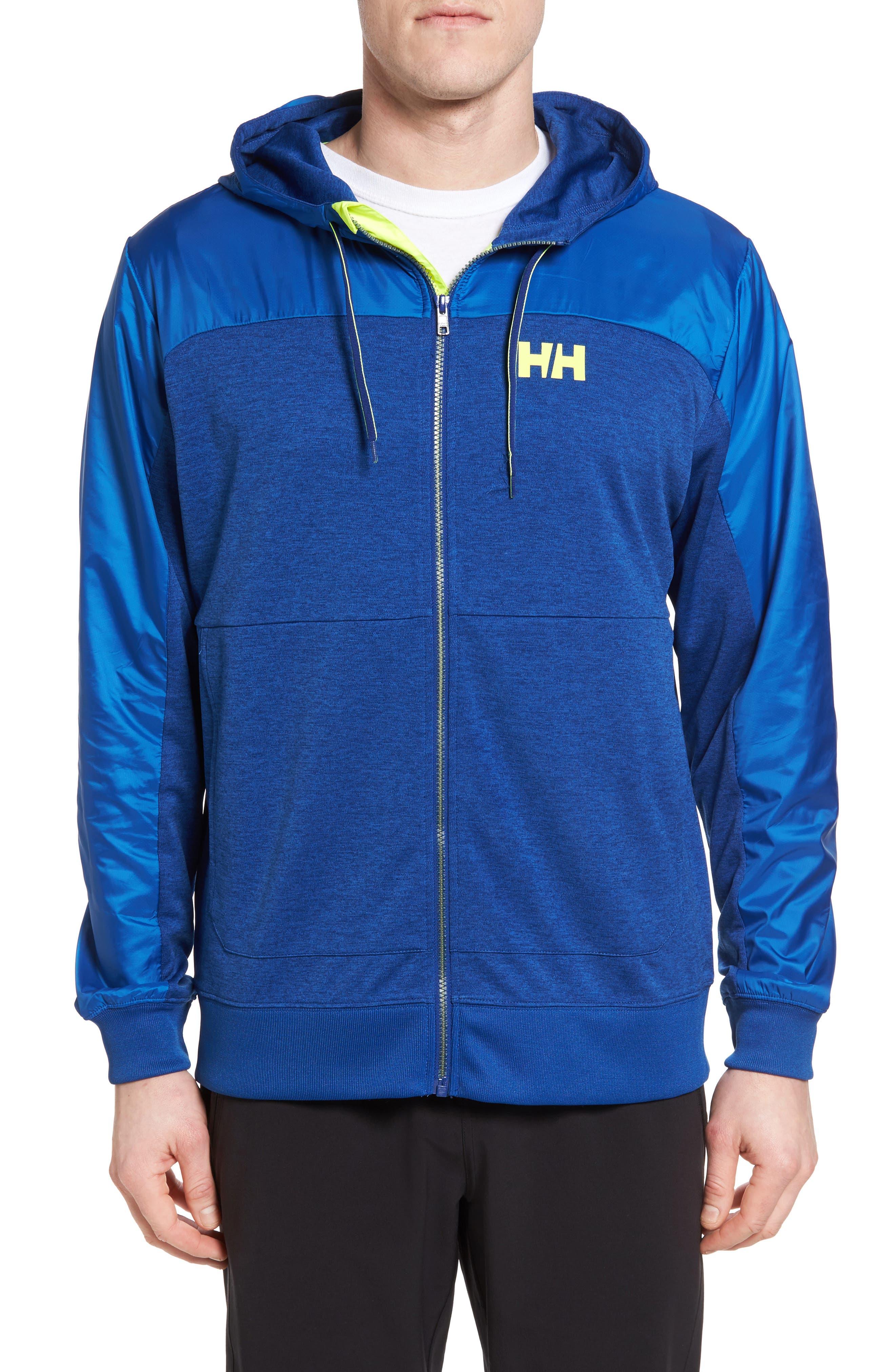 Raido Hooded Jacket,                         Main,                         color, Sodalite Blue