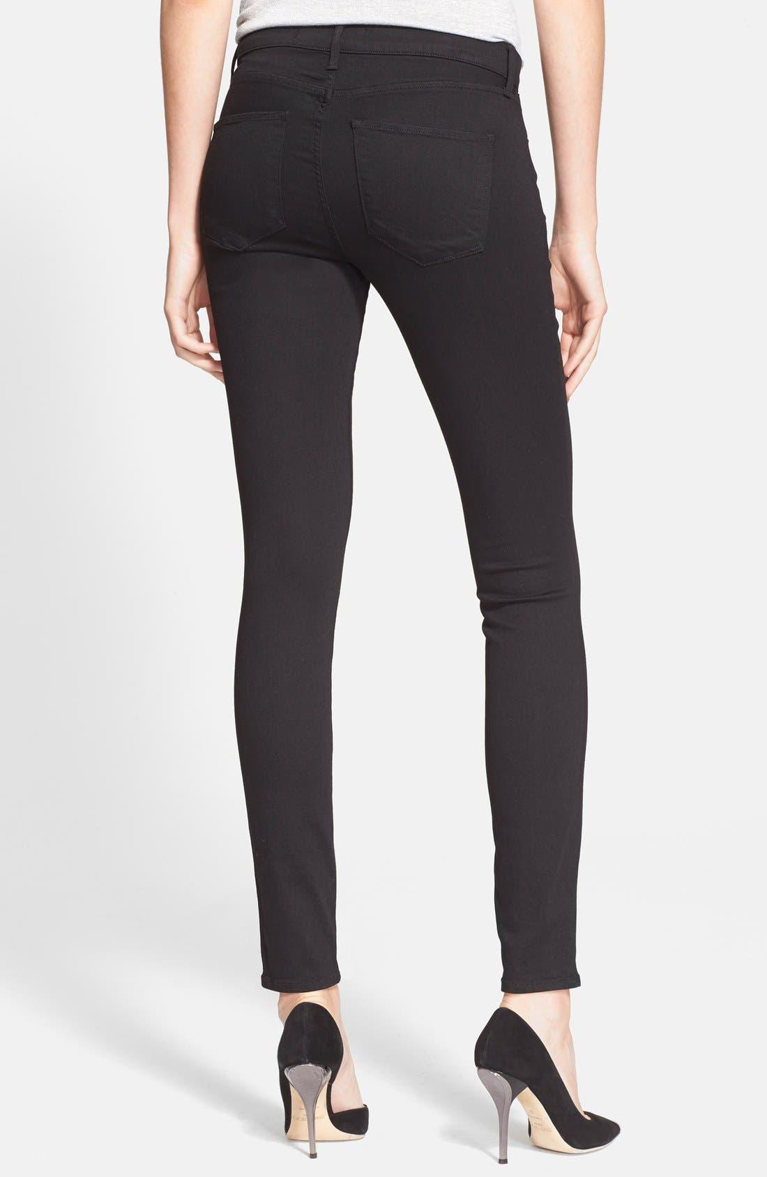 Alternate Image 2  - AYR 'The Skinny' Skinny Jeans (Jet Black)