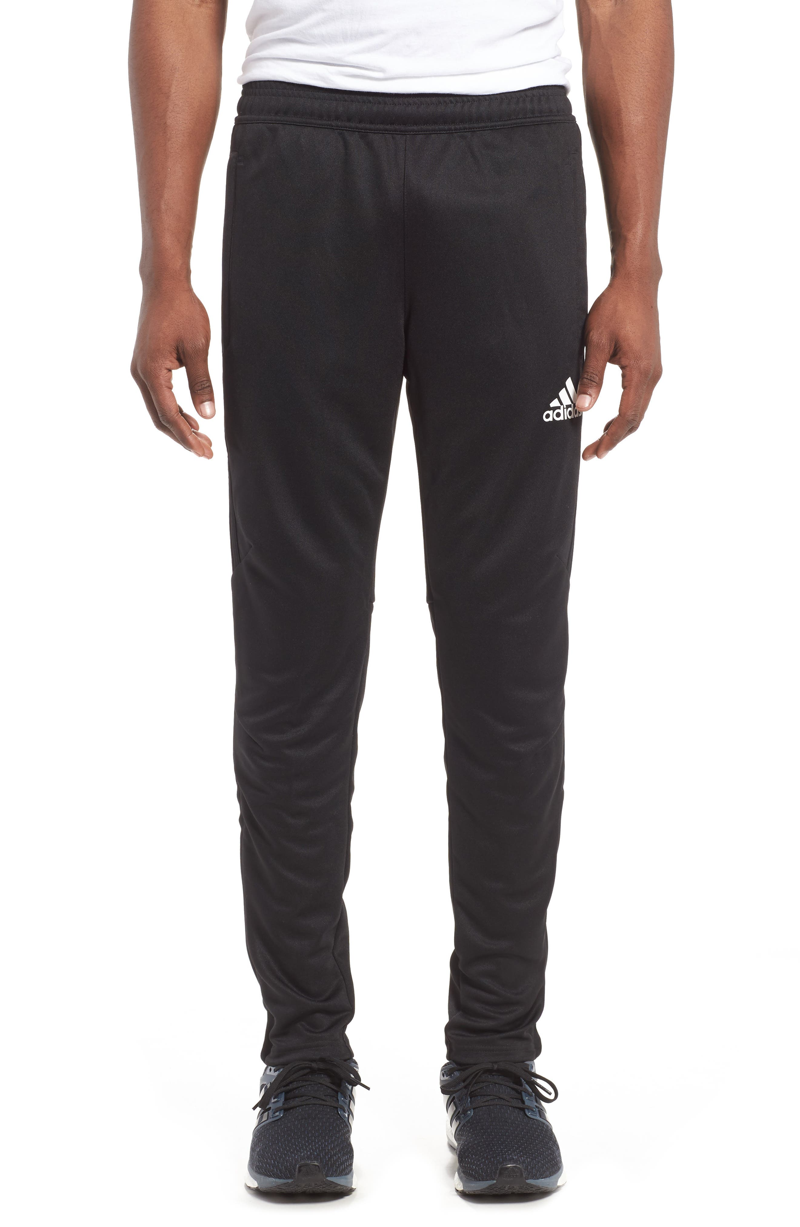 Tiro 17 Training Pants,                         Main,                         color, Black/ White