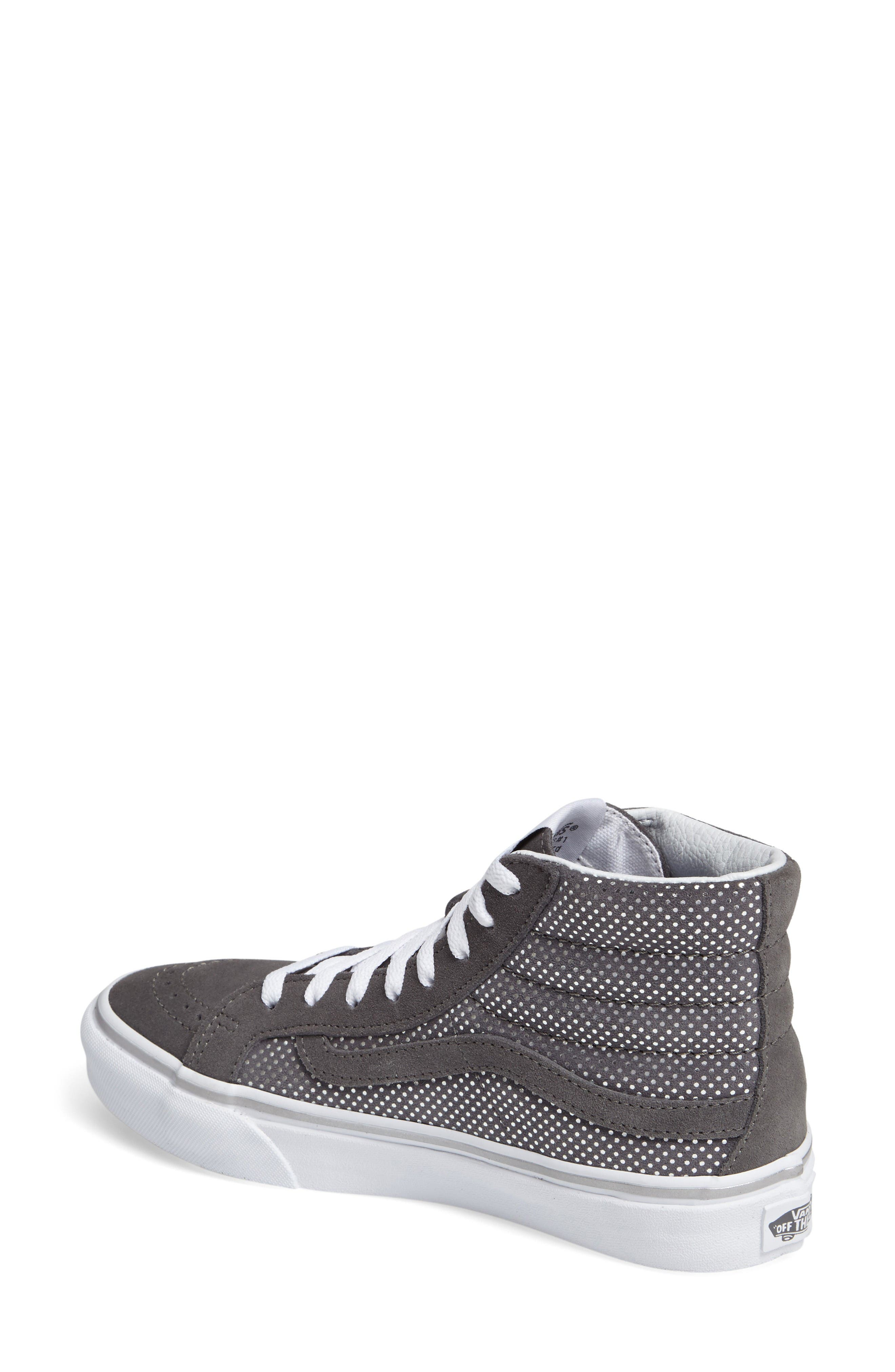 Alternate Image 2  - Vans Sk8-Hi Slim High Top Sneaker (Women)