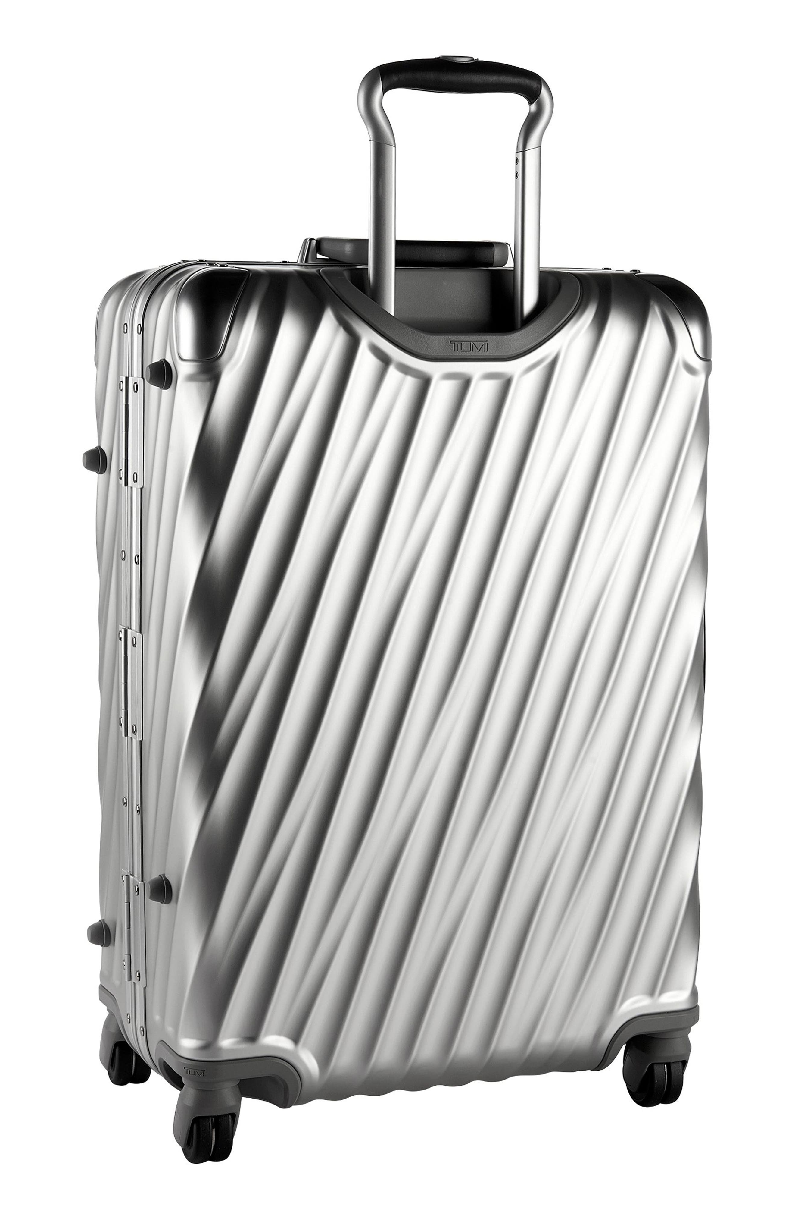 19-Degree Collection Wheeled Aluminum Short Trip Packing Case,                             Alternate thumbnail 5, color,                             Silver