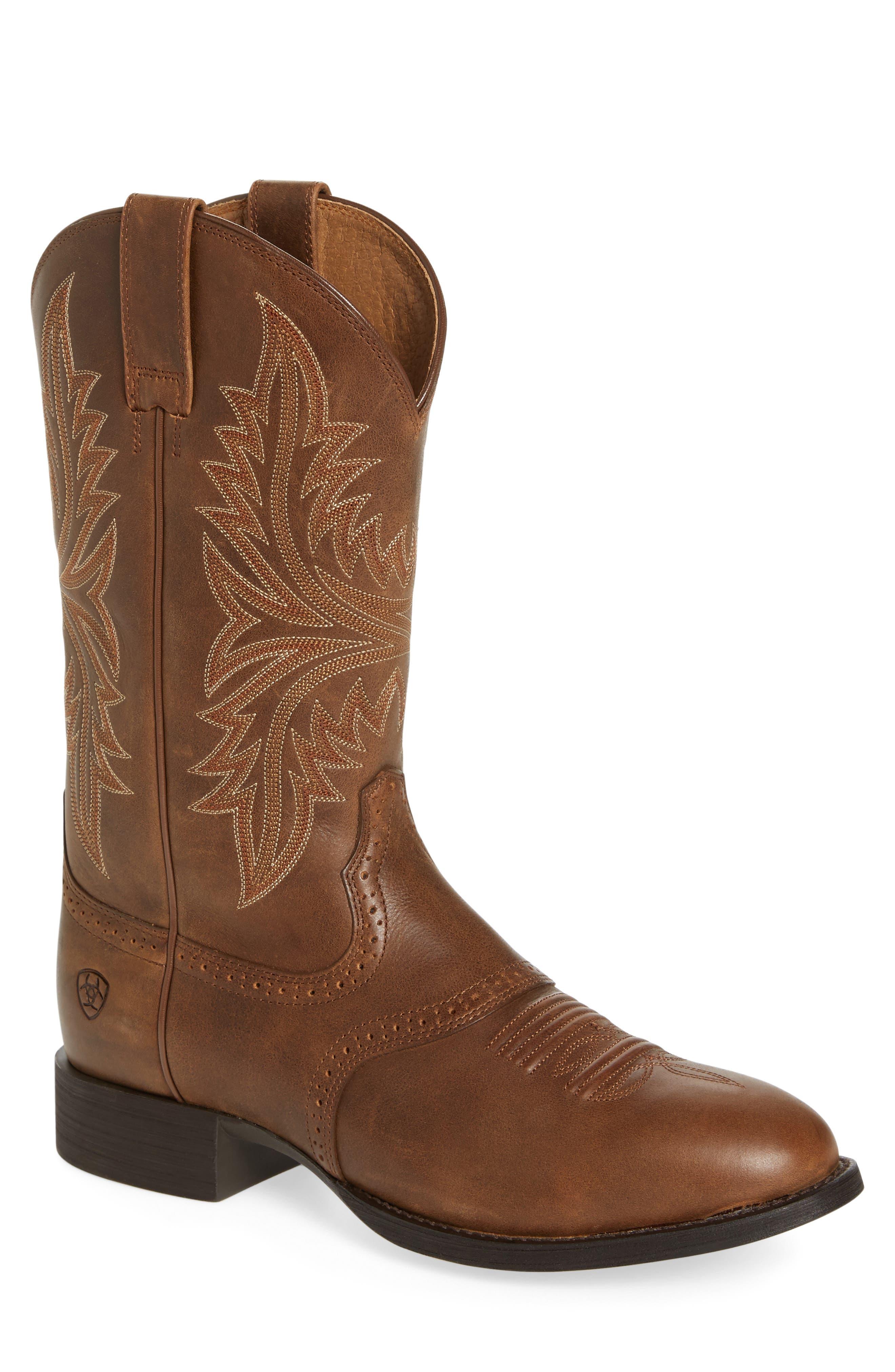 Ariat Heritage Hackamore Cowboy Boot (Men)