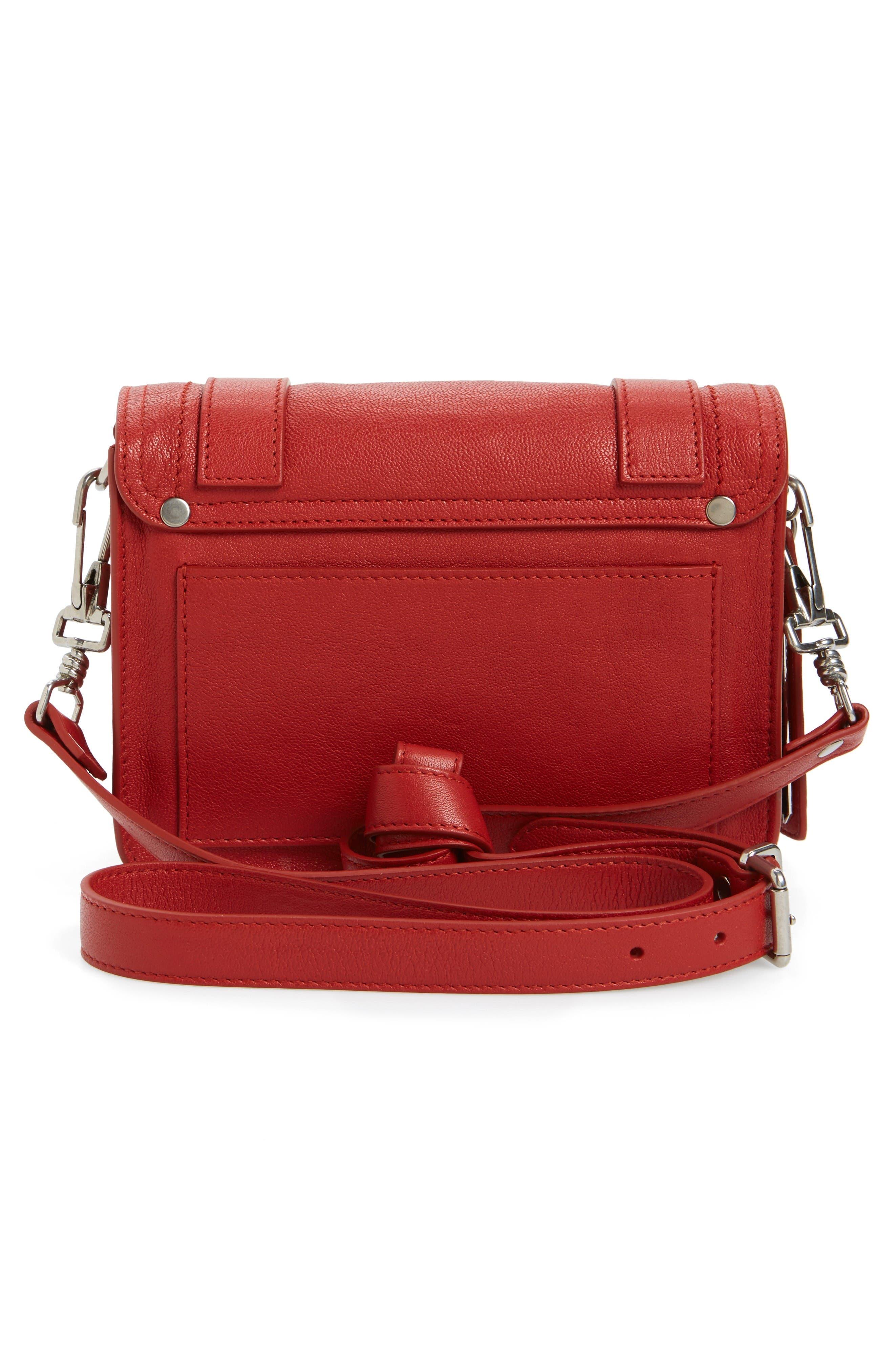 Alternate Image 2  - Proenza Schouler 'Mini PS1' Lambskin Leather Crossbody Bag
