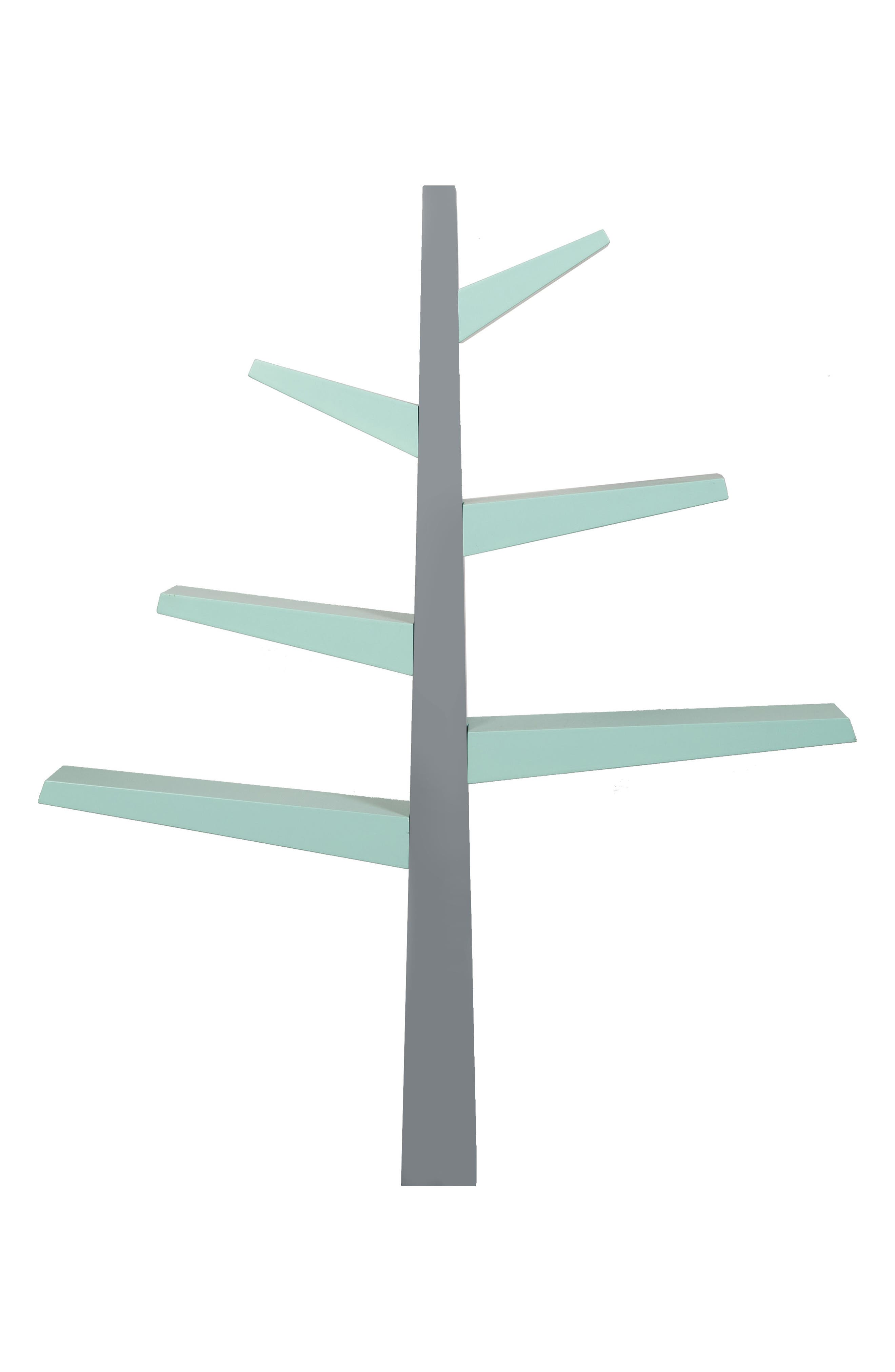 'Spruce Tree' Bookcase,                         Main,                         color, Grey/ Mint