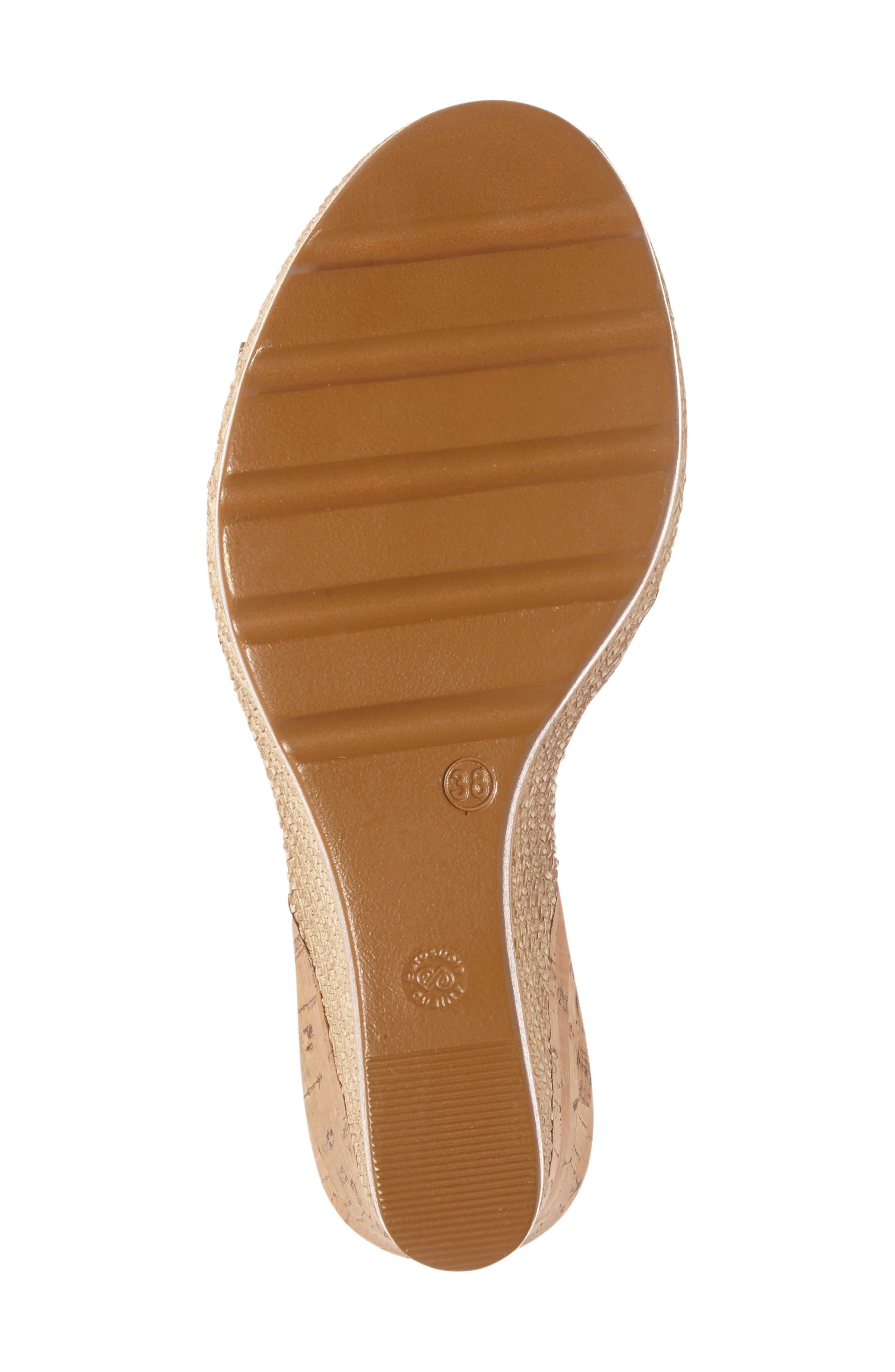 Alternate Image 4  - Napa Flex Bari Wedge Sandal (Women)