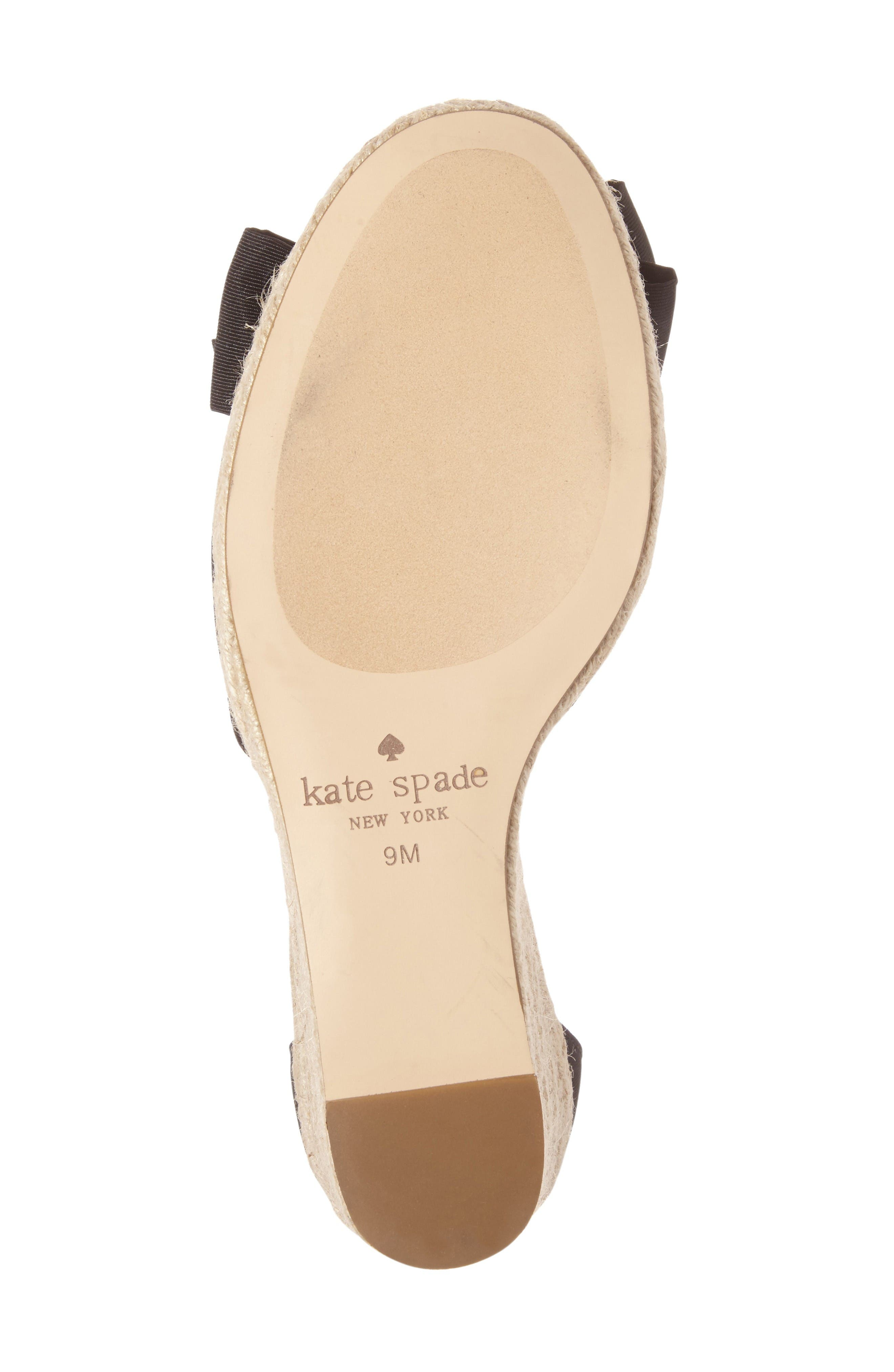 Alternate Image 4  - kate spade new york broome wedge sandal (Women)
