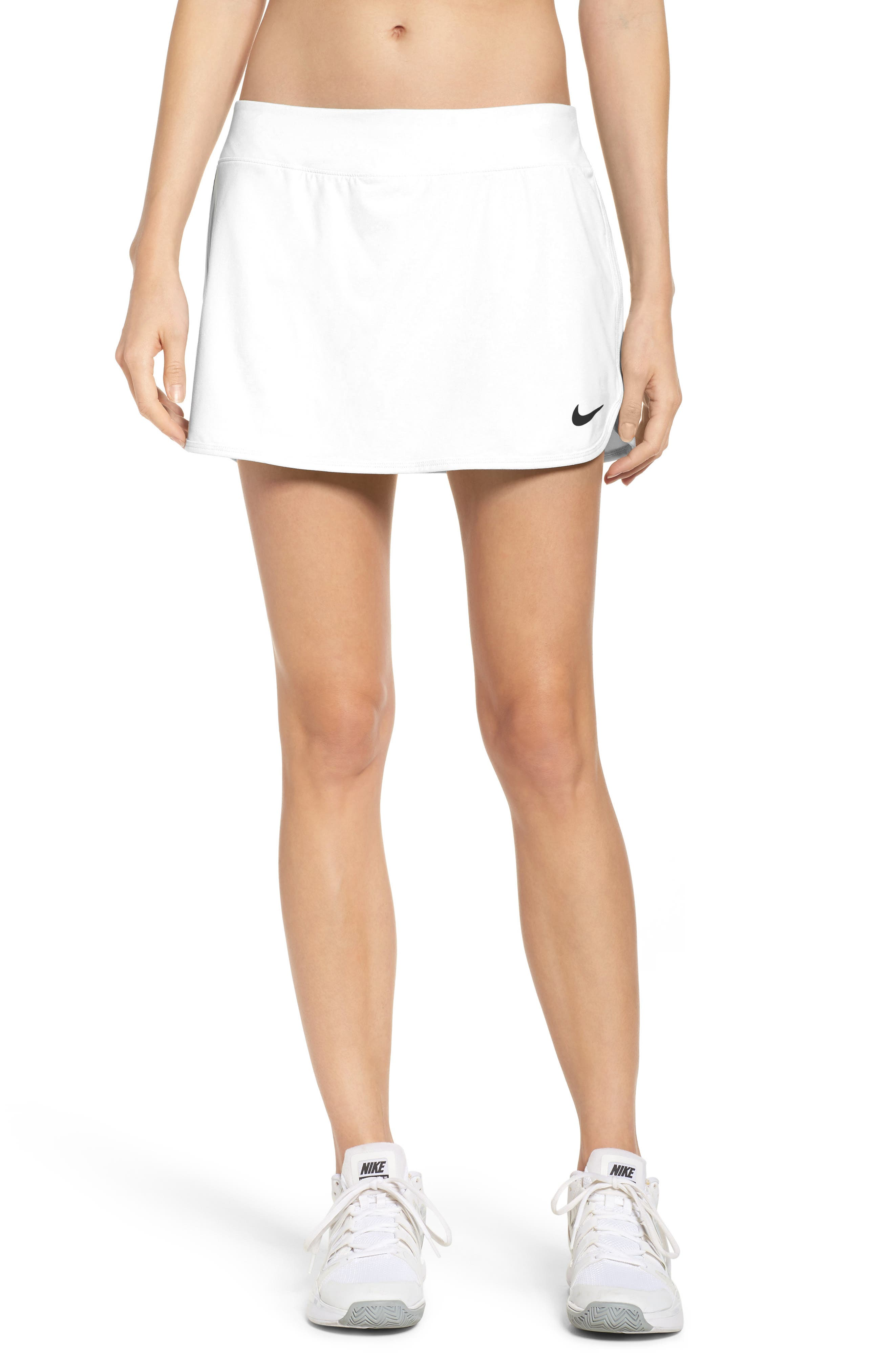 Alternate Image 1 Selected - Nike 'Pure' Dri-FIT Tennis Skirt