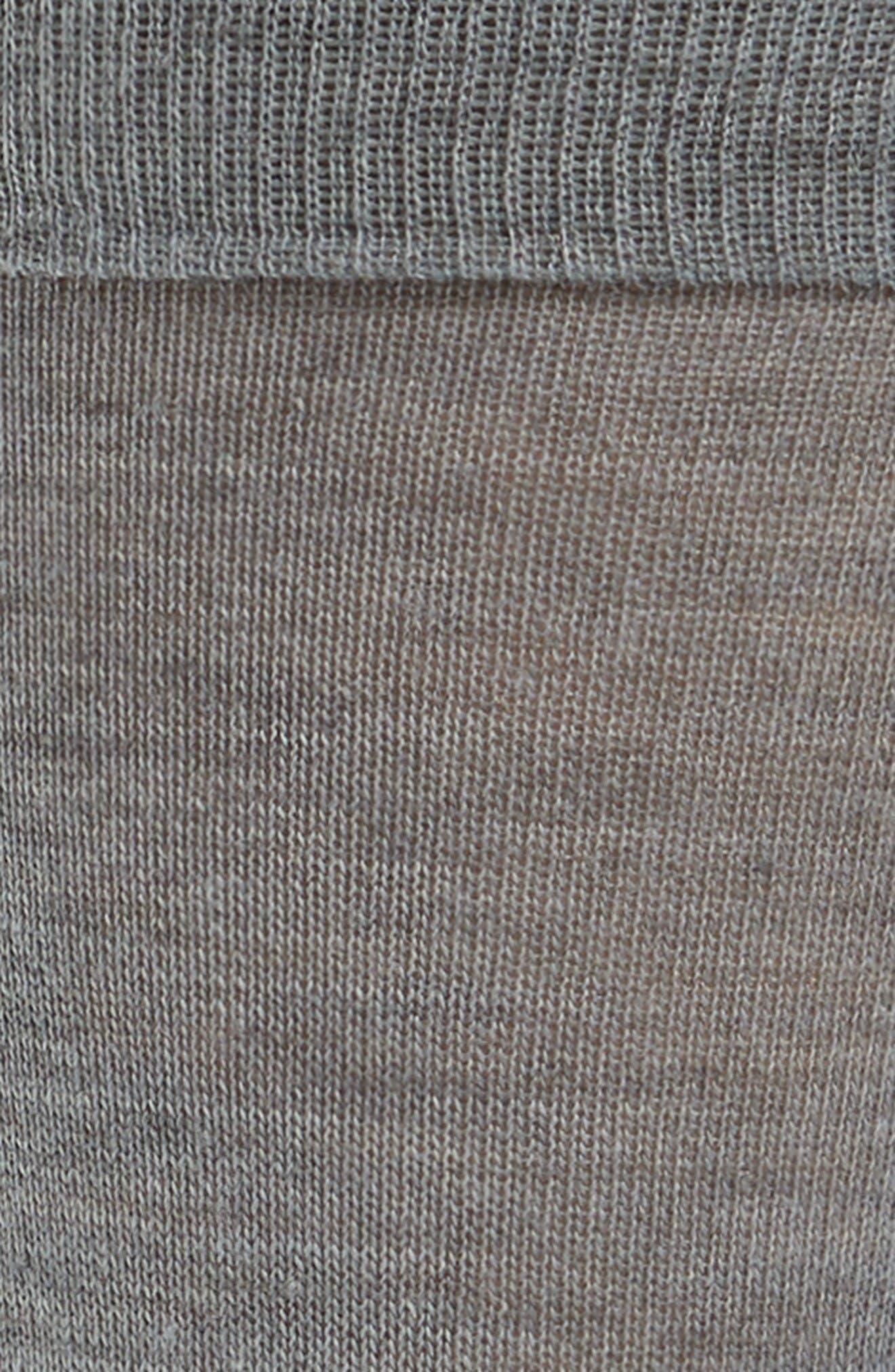 Alternate Image 2  - Lorenzo Uomo Merino Wool Blend Socks (3 for $30)