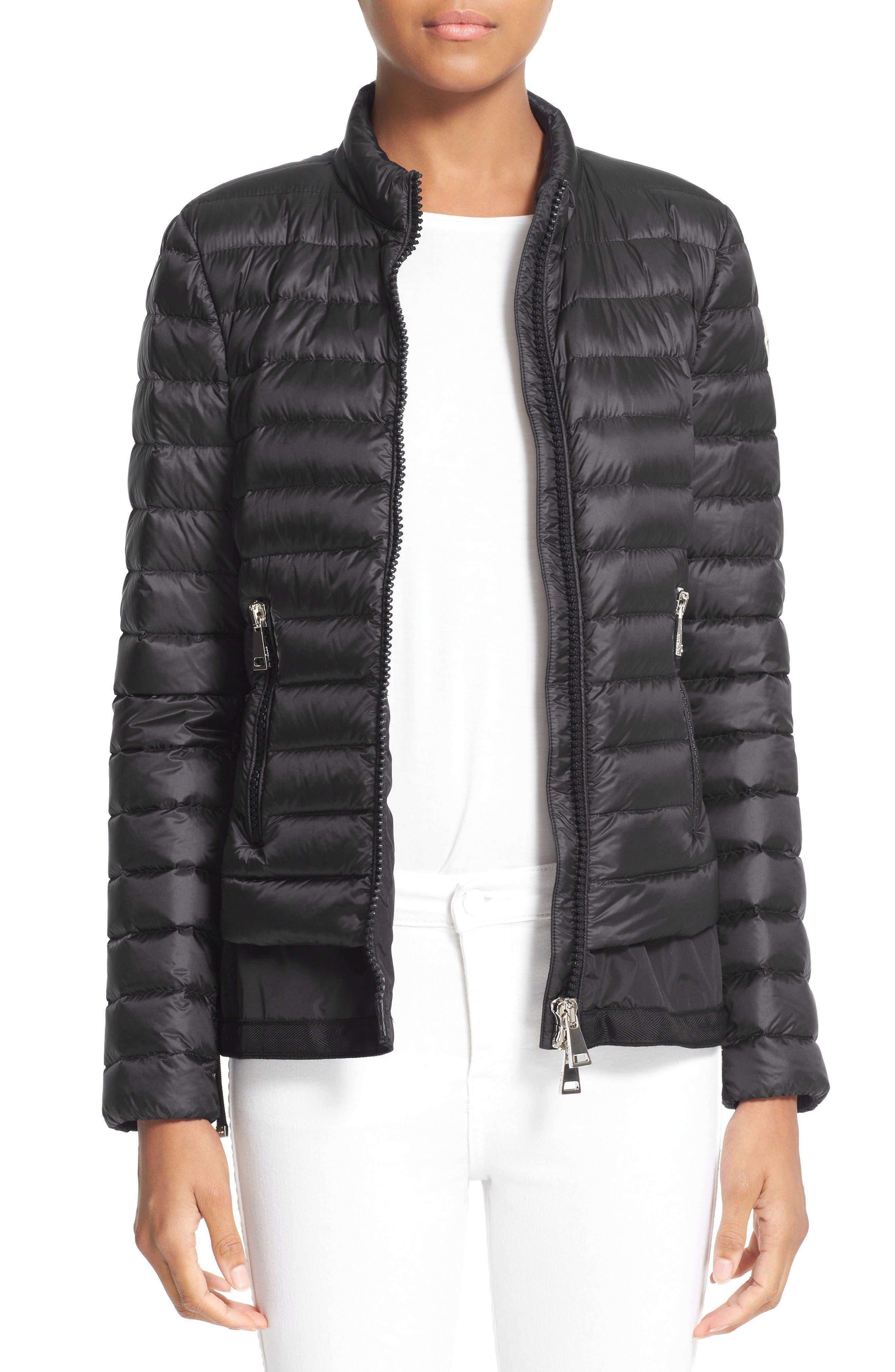 Main Image - Moncler Diantha Water Resistant Down Jacket