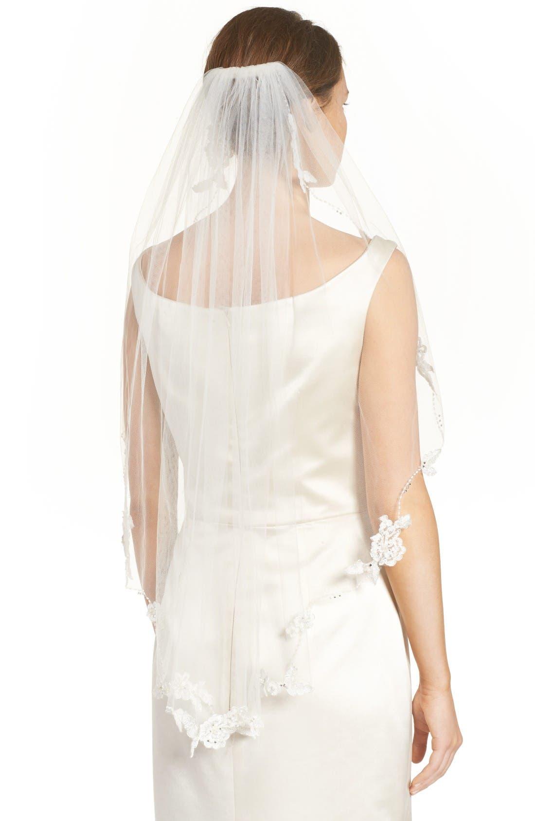 Alternate Image 3  - Brides & Hairpins Mikaela Embellished Veil