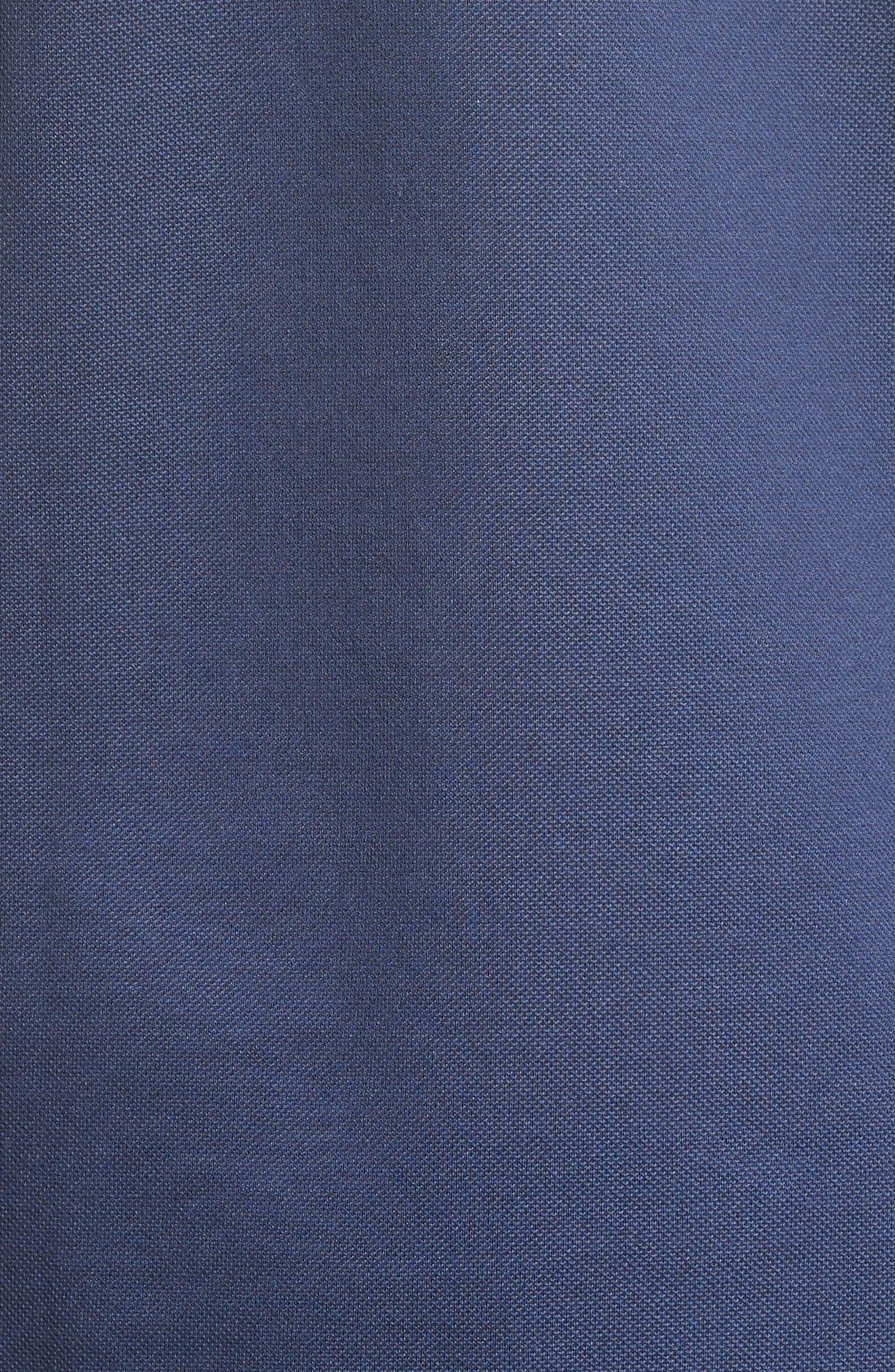 Alternate Image 5  - Lanvin Grosgrain Collar Polo