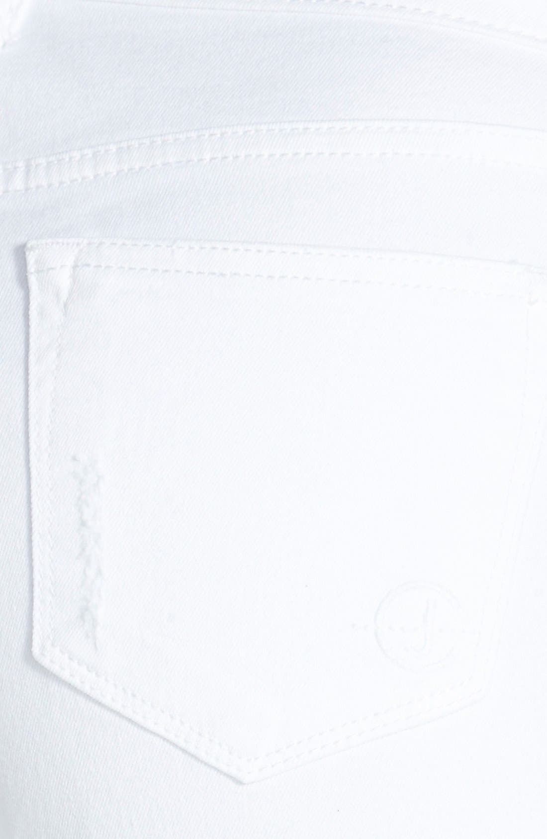 Alternate Image 3  - CJ by Cookie Johnson 'Glory' Slim Boyfriend Jeans (Optic White)