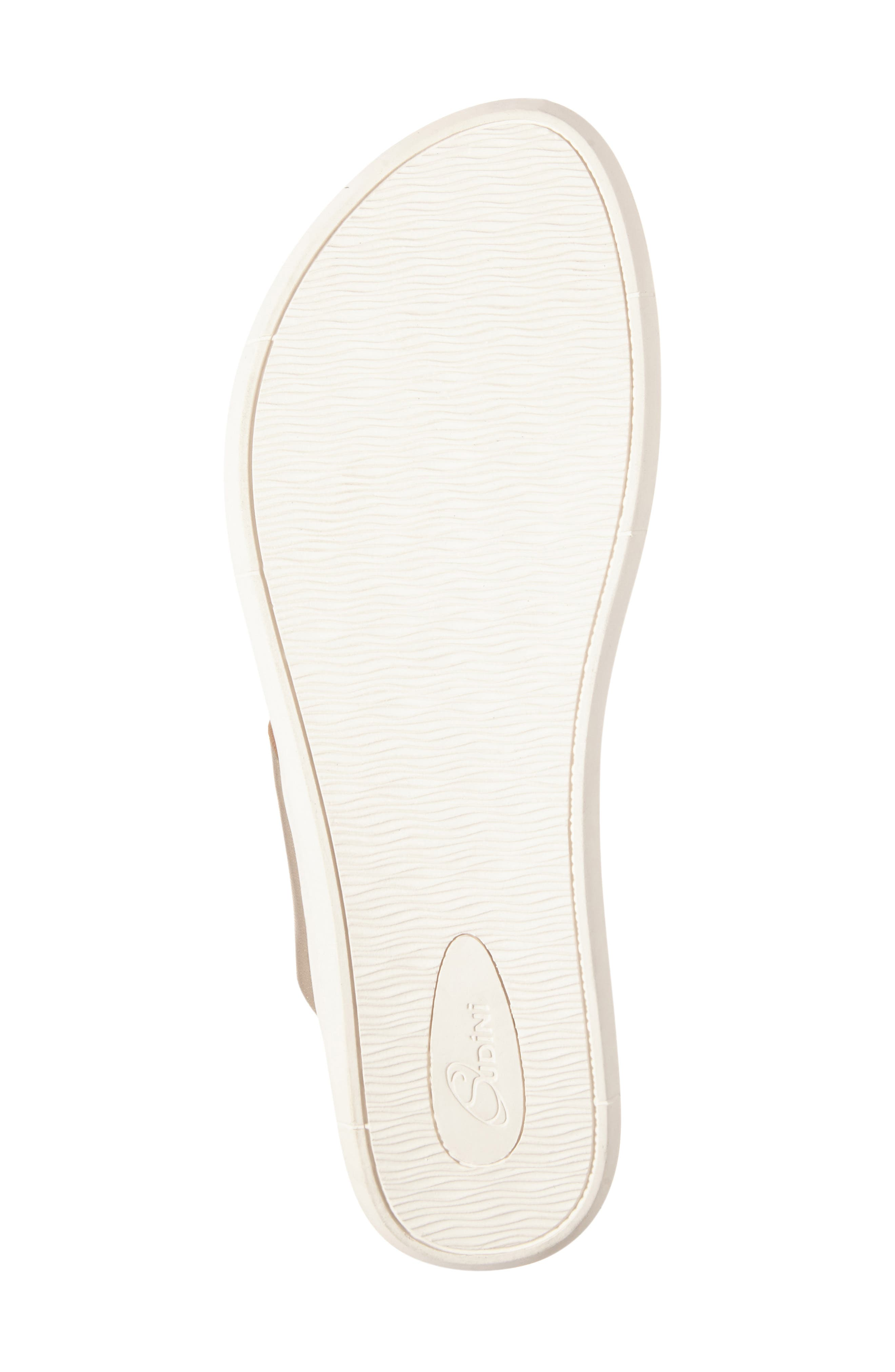 Alternate Image 4  - Sudini Sally Perforated Flip Flop (Women)