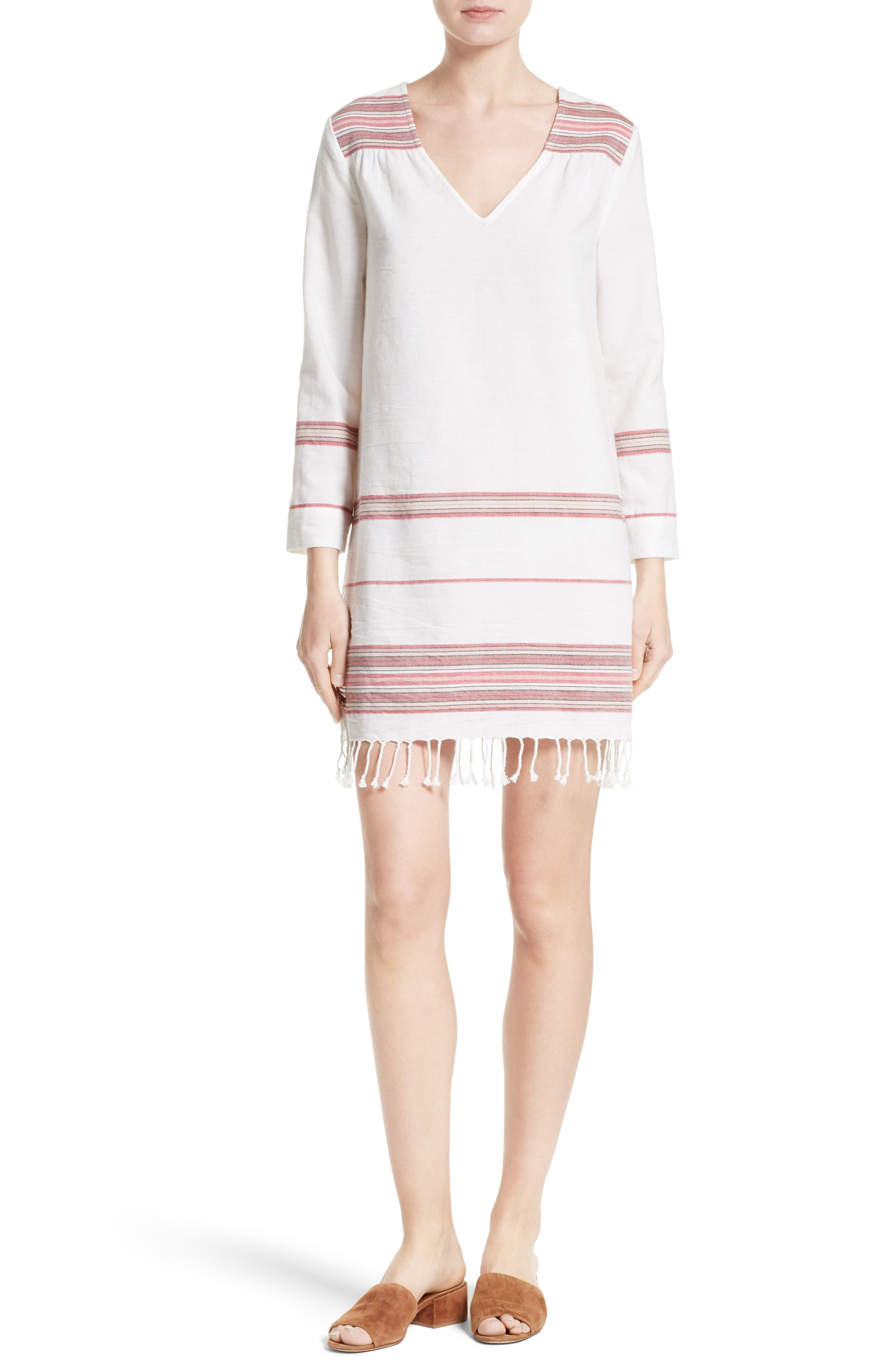 Soft Joie Daralina Fringe Hem Shift Dress