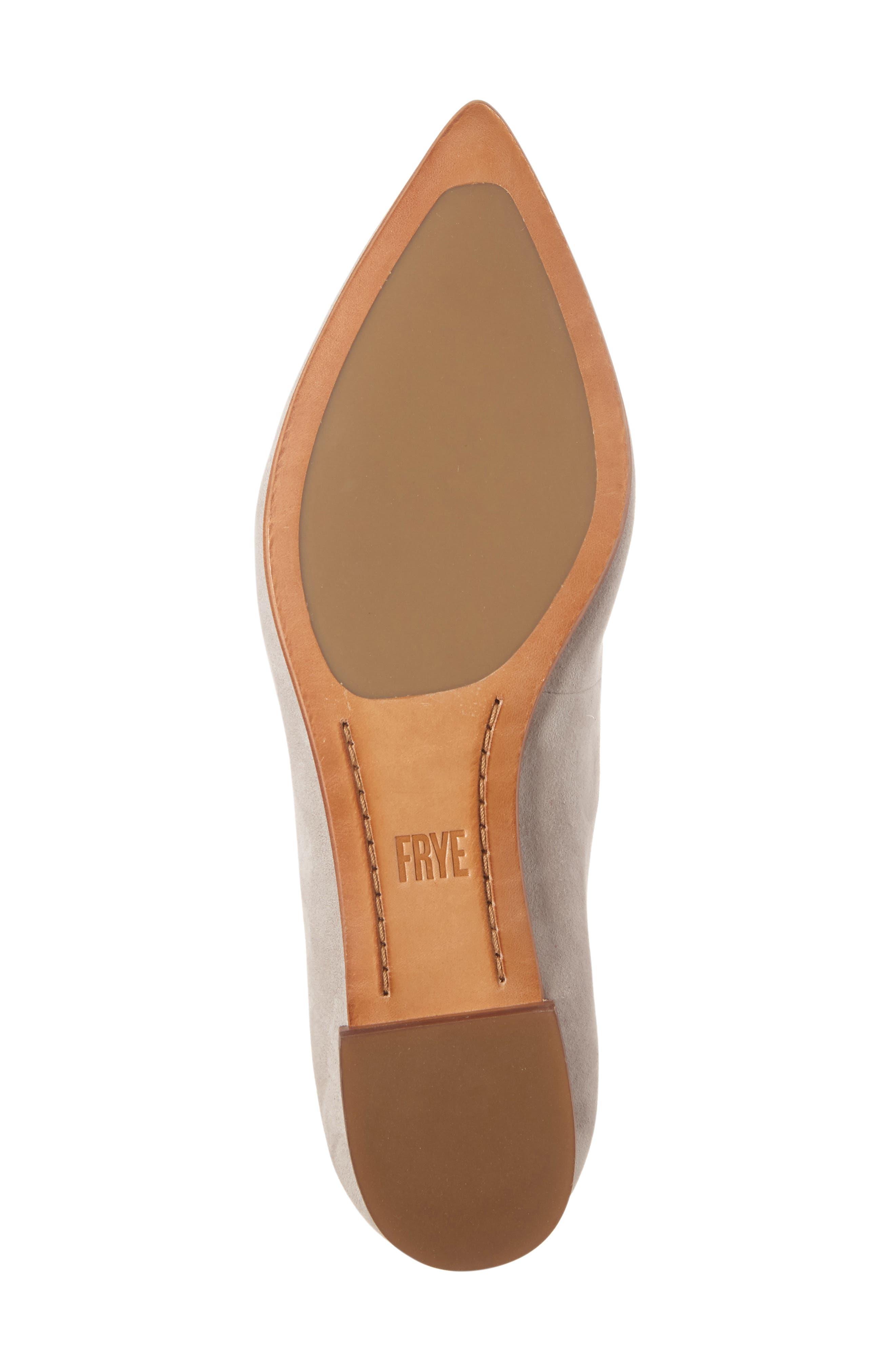 Alternate Image 4  - Frye Sienna Cross Ballet Flat (Women)