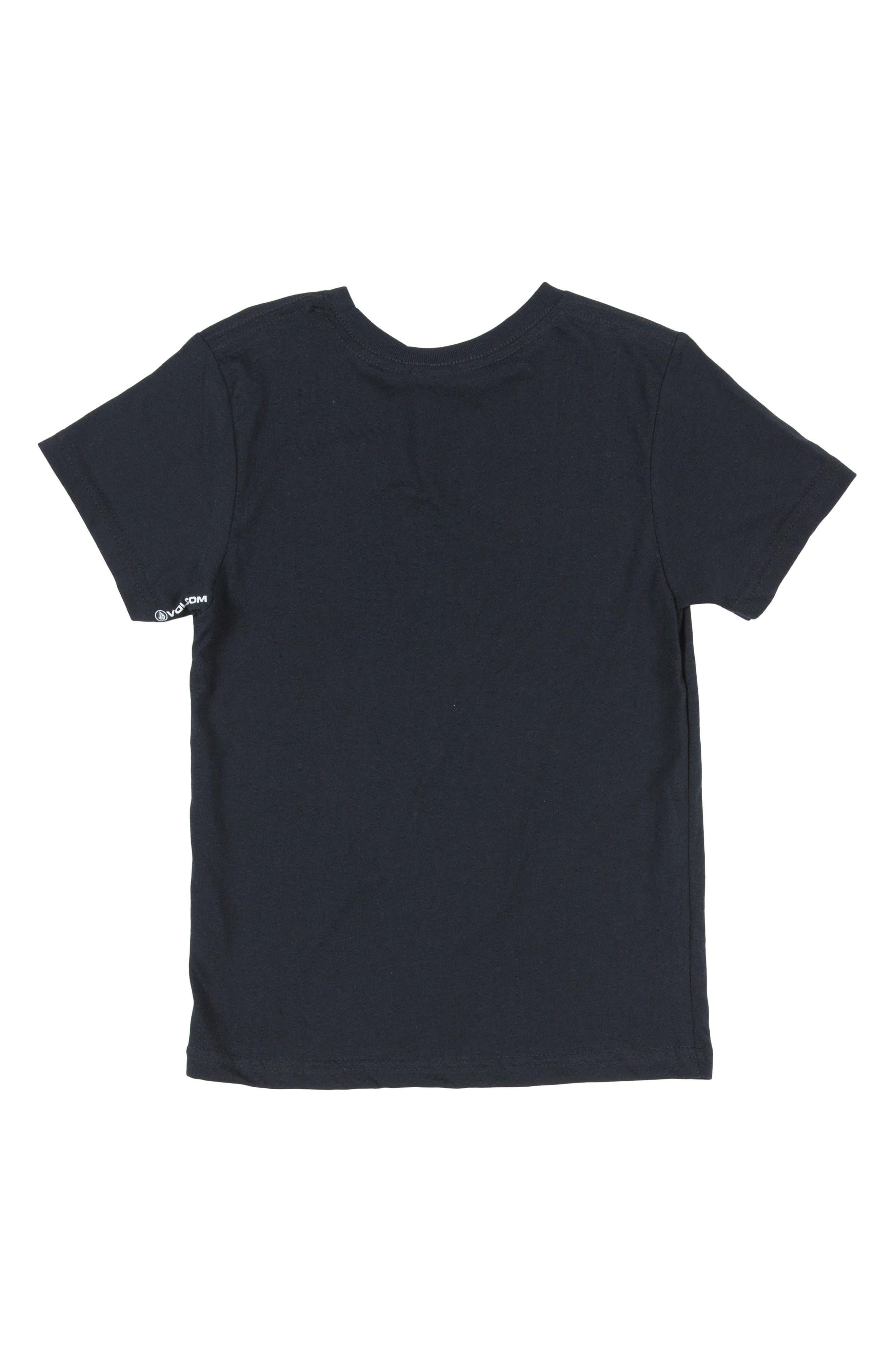 Lino Euro Graphic T-Shirt,                             Alternate thumbnail 2, color,                             Black