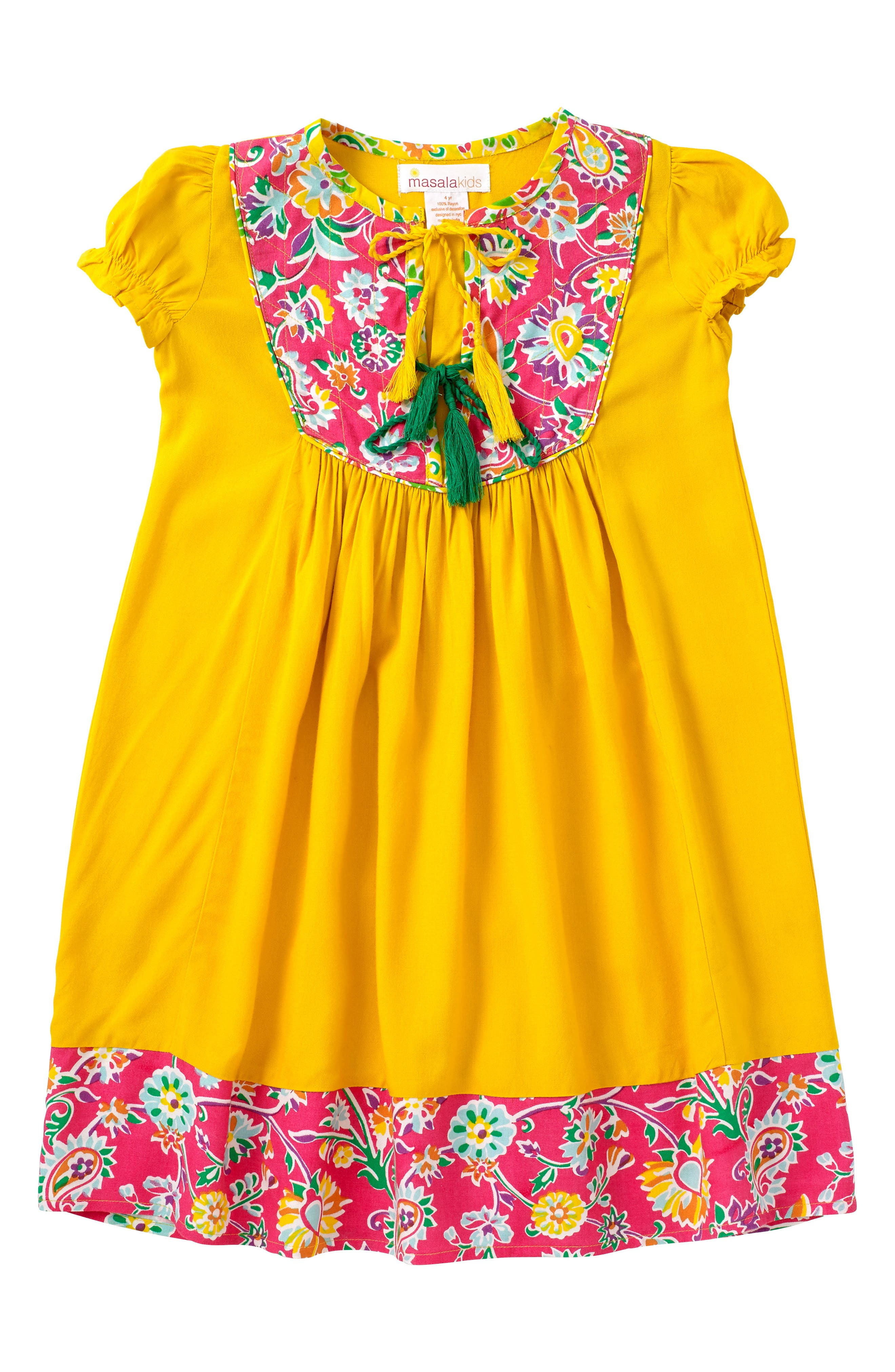 Masalababy Haveli Dress (Toddler Girls, Little Girls & Big Girls)