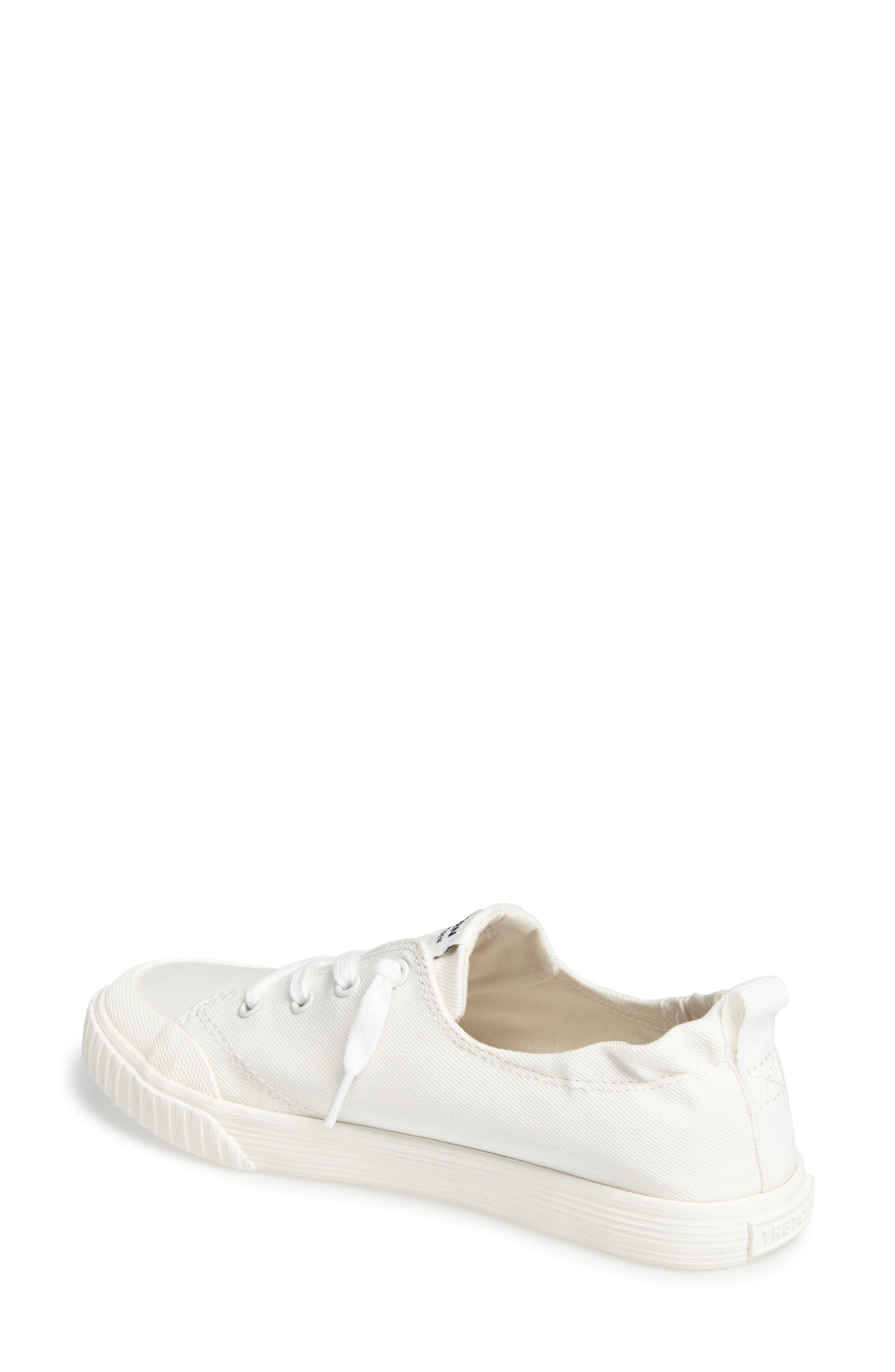Meg Slip-On Sneaker,                             Alternate thumbnail 2, color,                             Vintage White