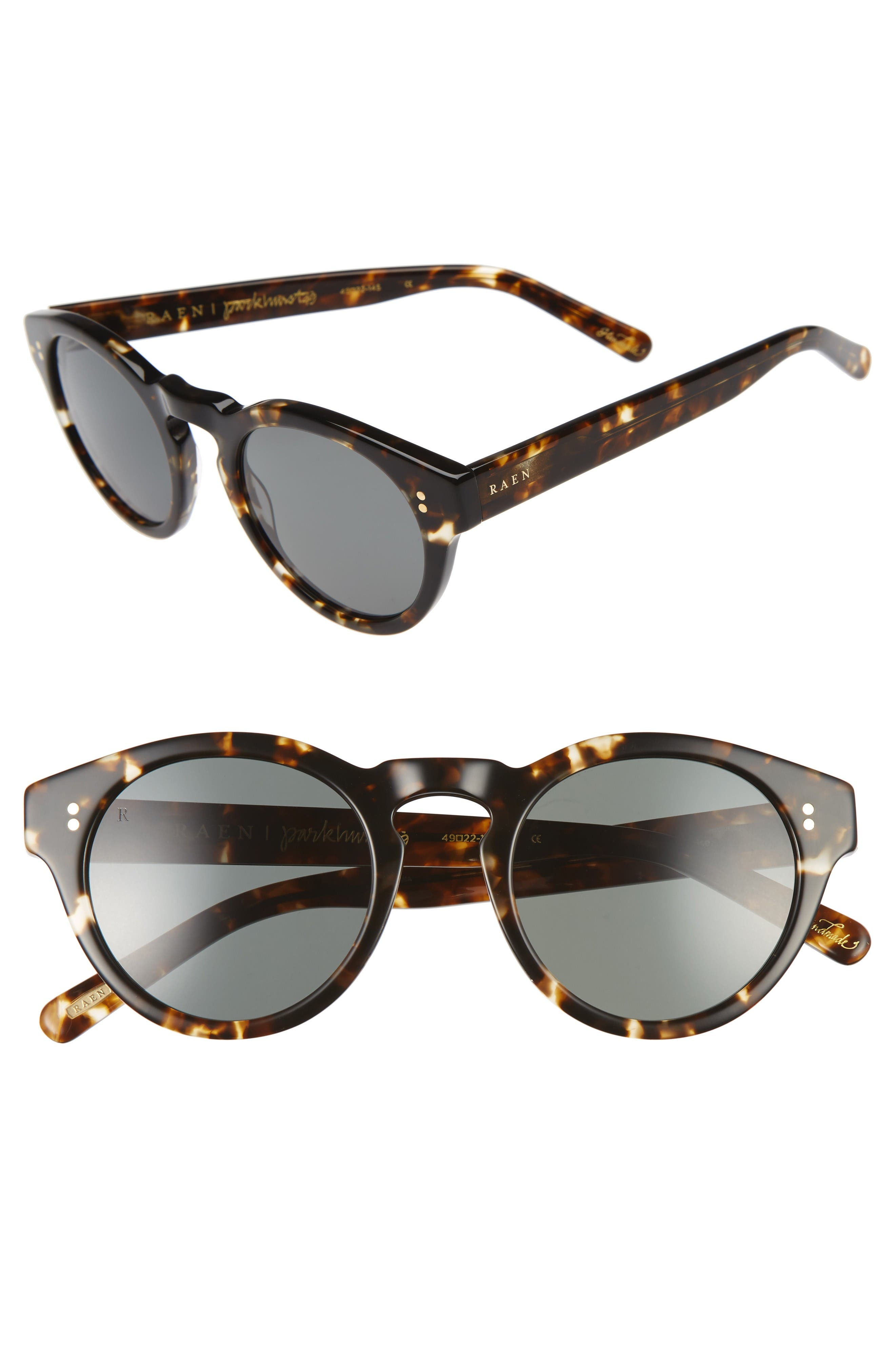 Parkhurst 49mm Sunglasses,                         Main,                         color, Brindle Tort