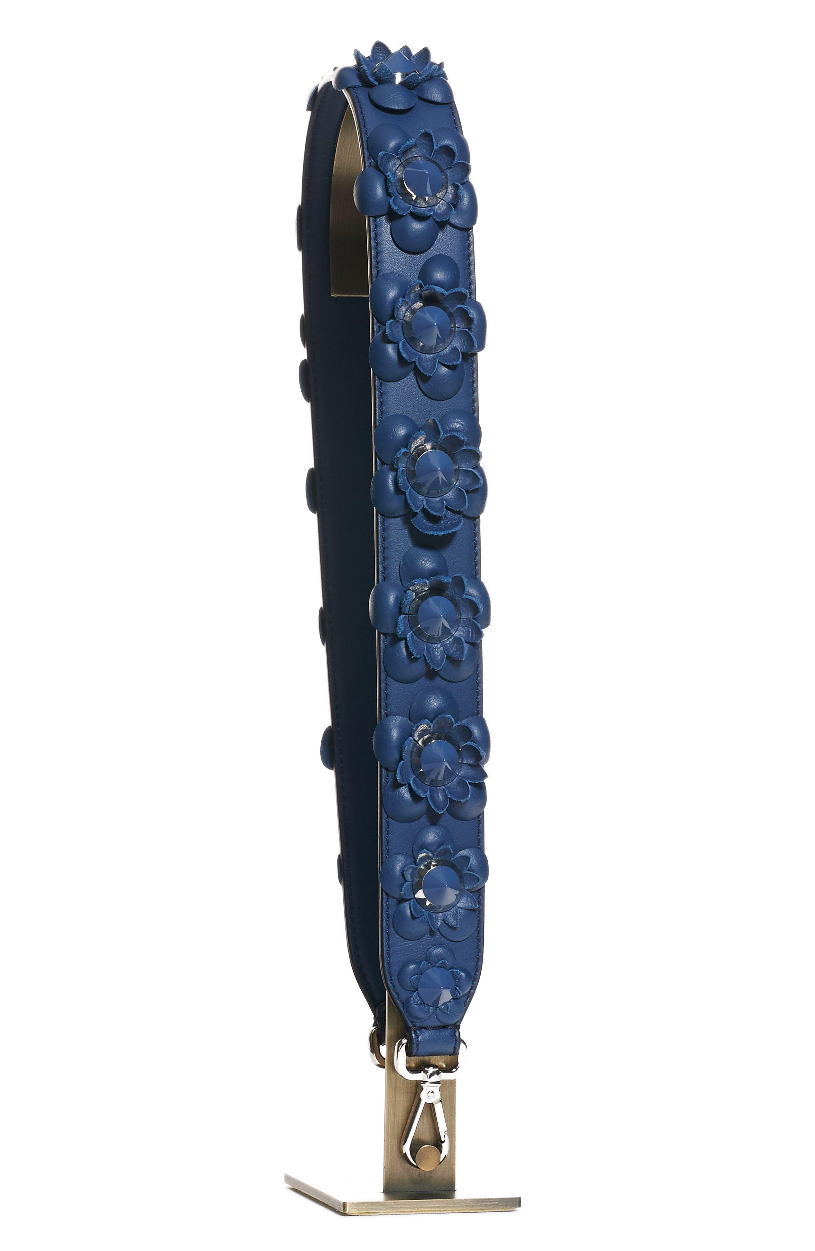 Main Image - Fendi Studded Flower Guitar Bag Strap