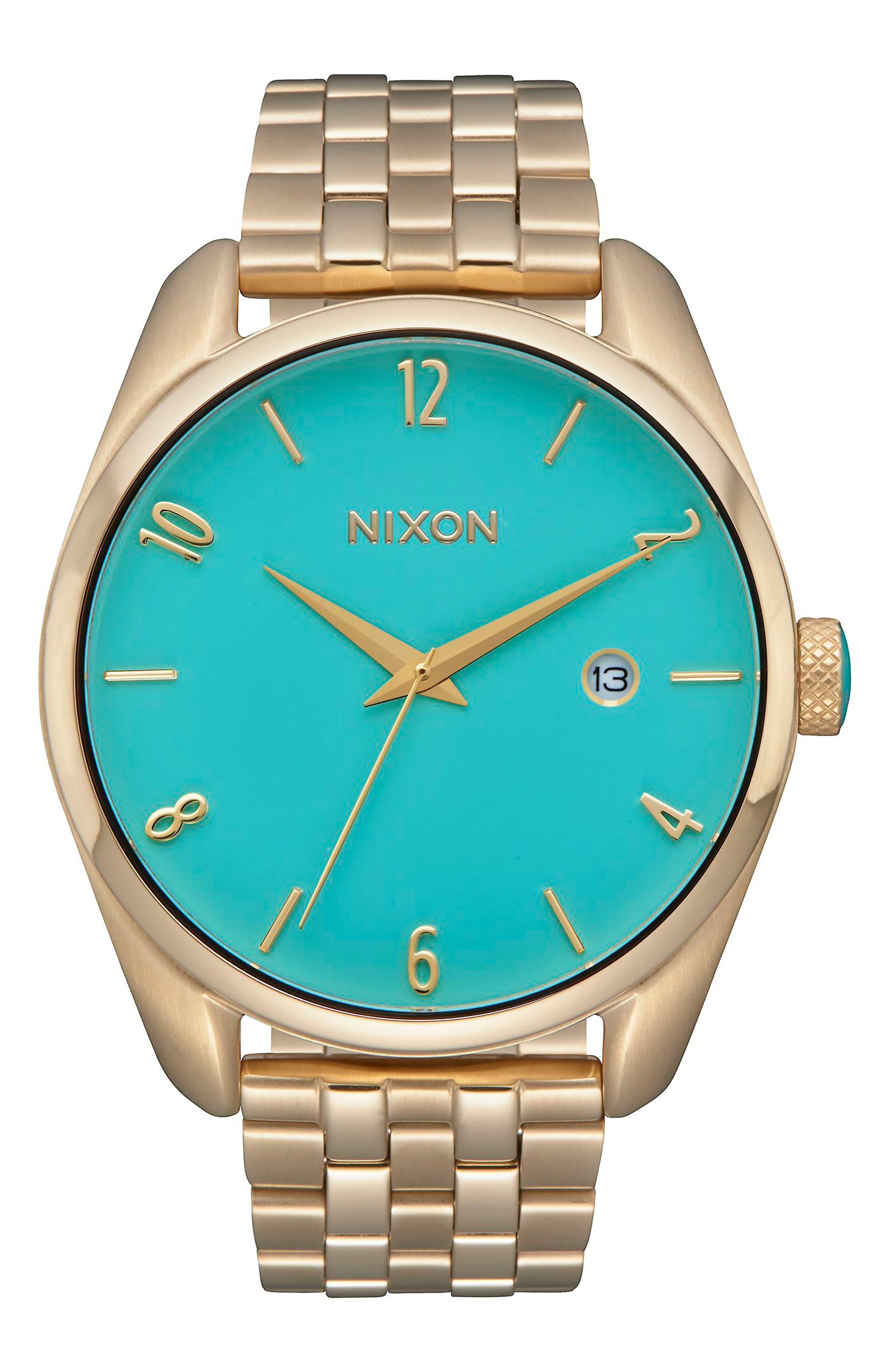NIXON Bullet Bracelet Watch, 38mm
