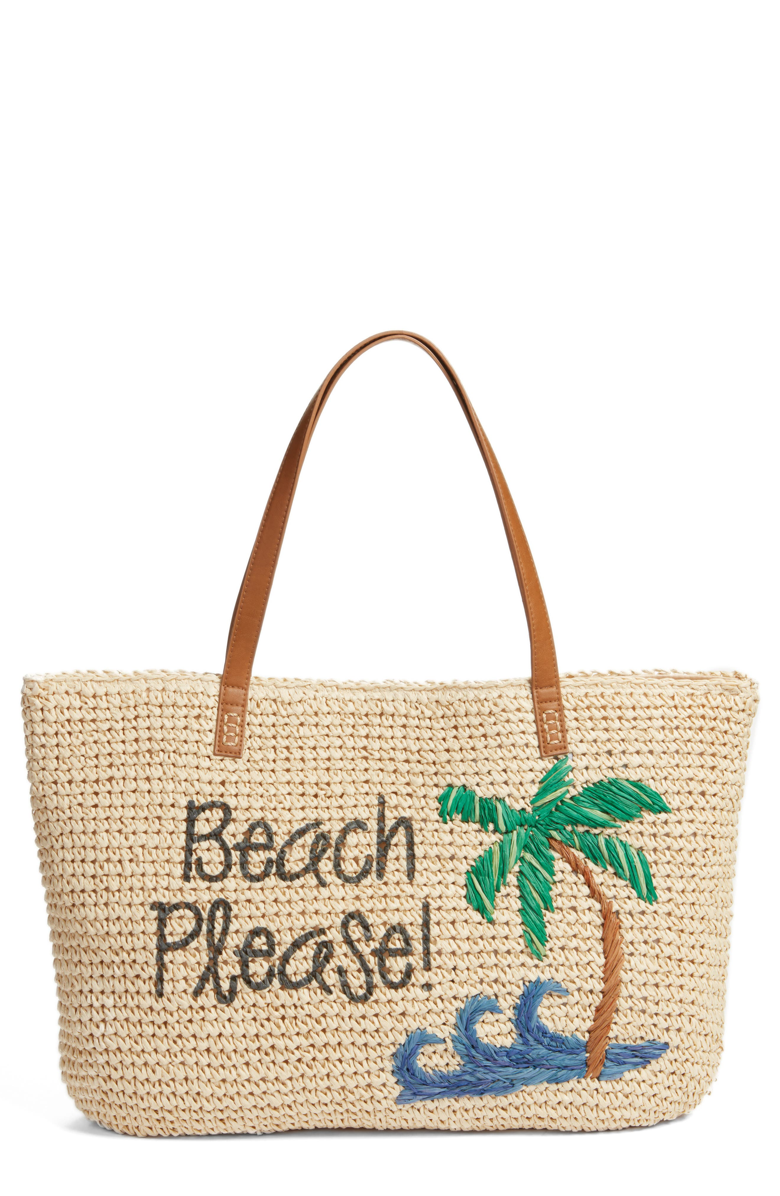 Alternate Image 1 Selected - Nordstrom Beach Please Tote