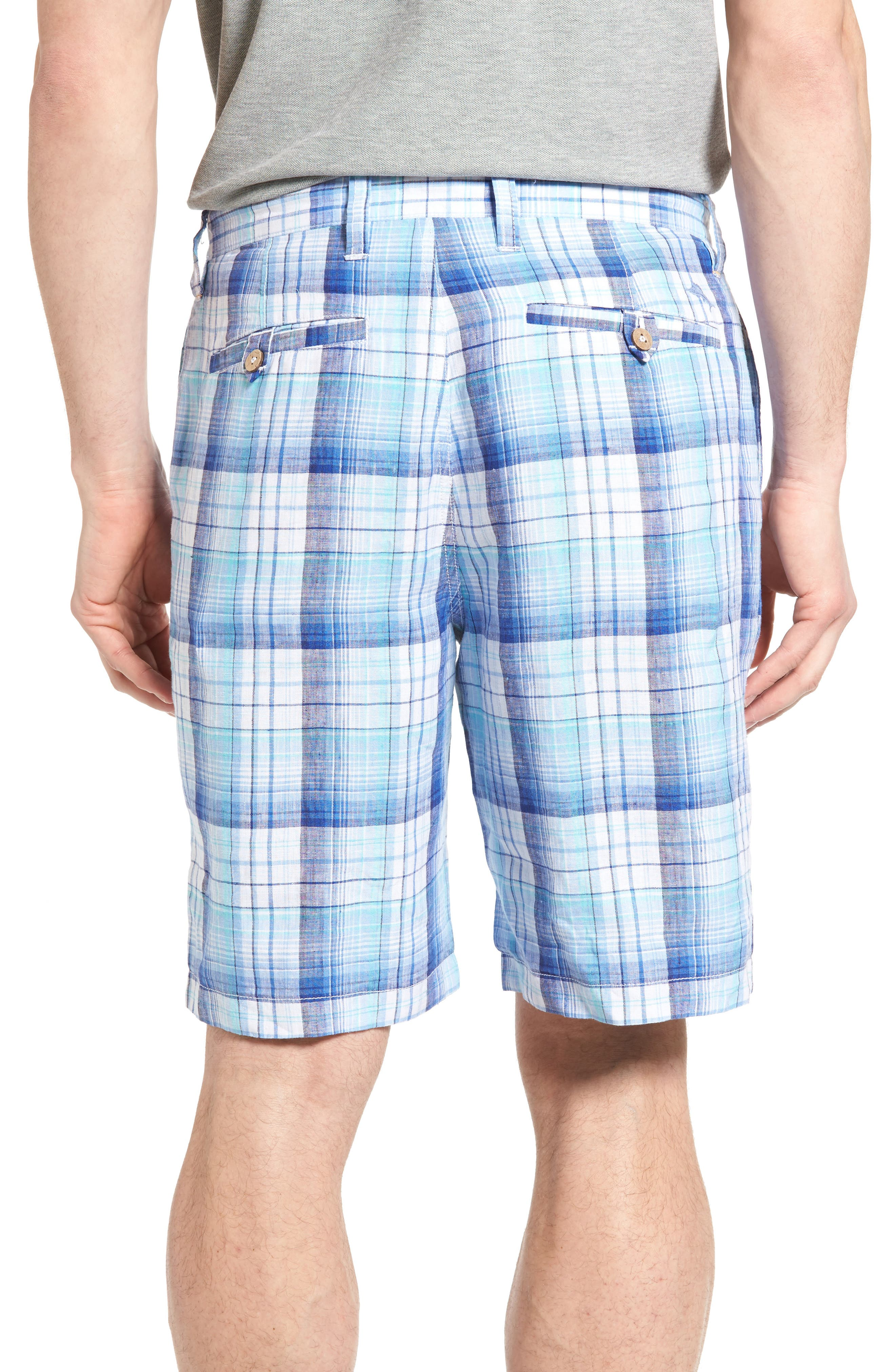 Island Duo Reversible Linen Shorts,                             Alternate thumbnail 2, color,                             Old Royal