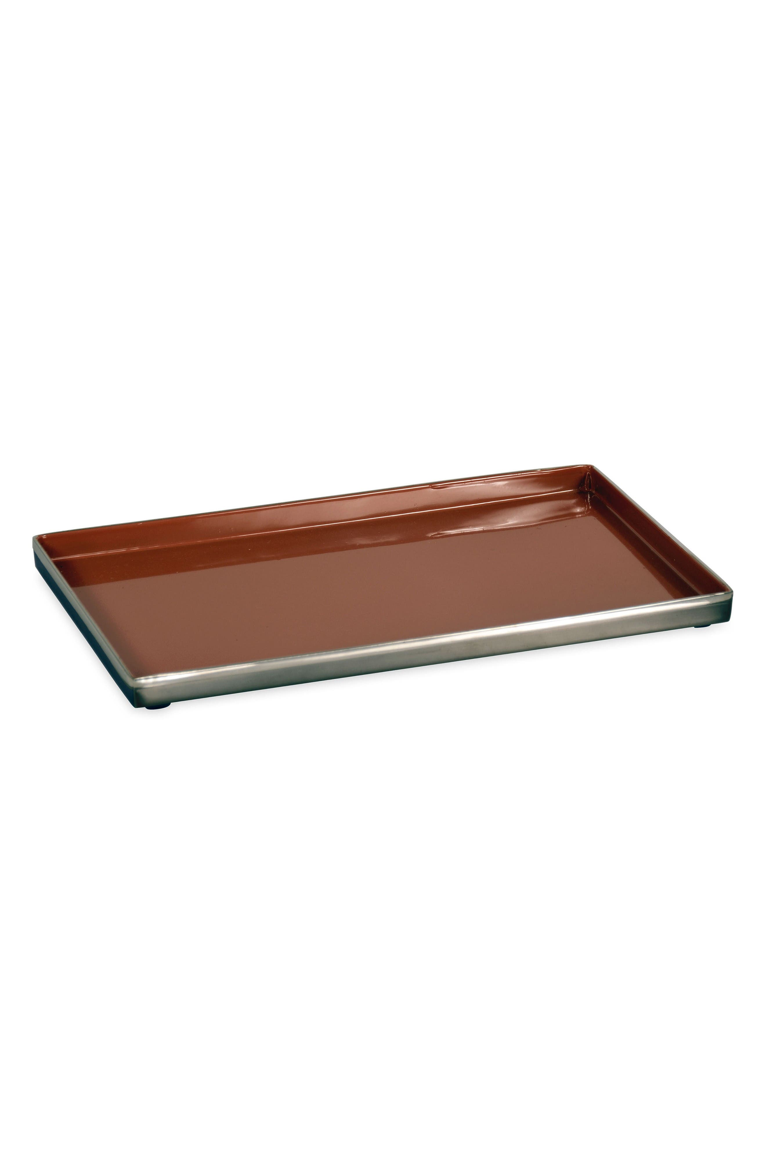 Astor Place Tray,                         Main,                         color, Black/ Vermillion