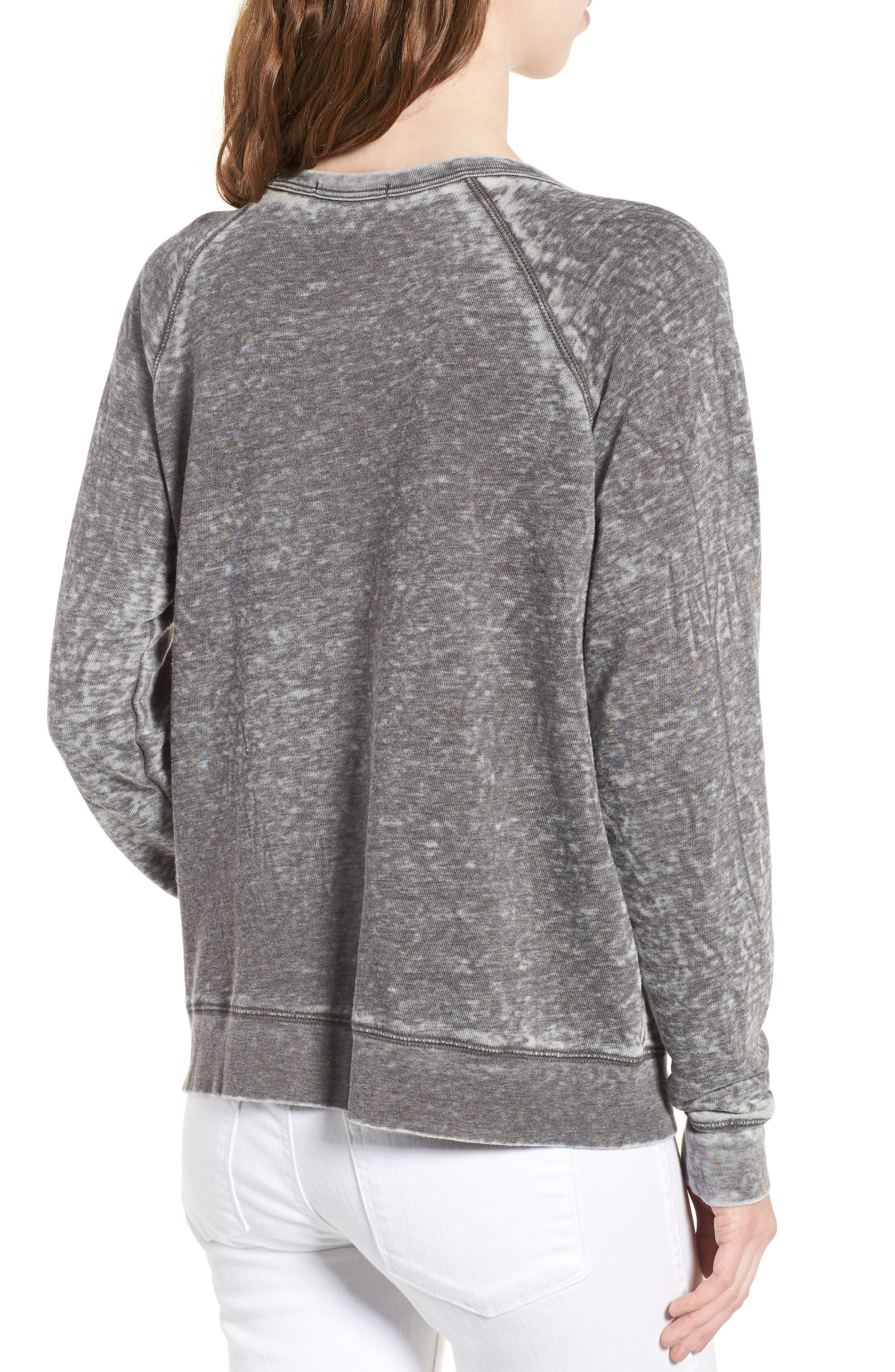 Original Burnout Sweatshirt,                             Alternate thumbnail 2, color,                             Pepper