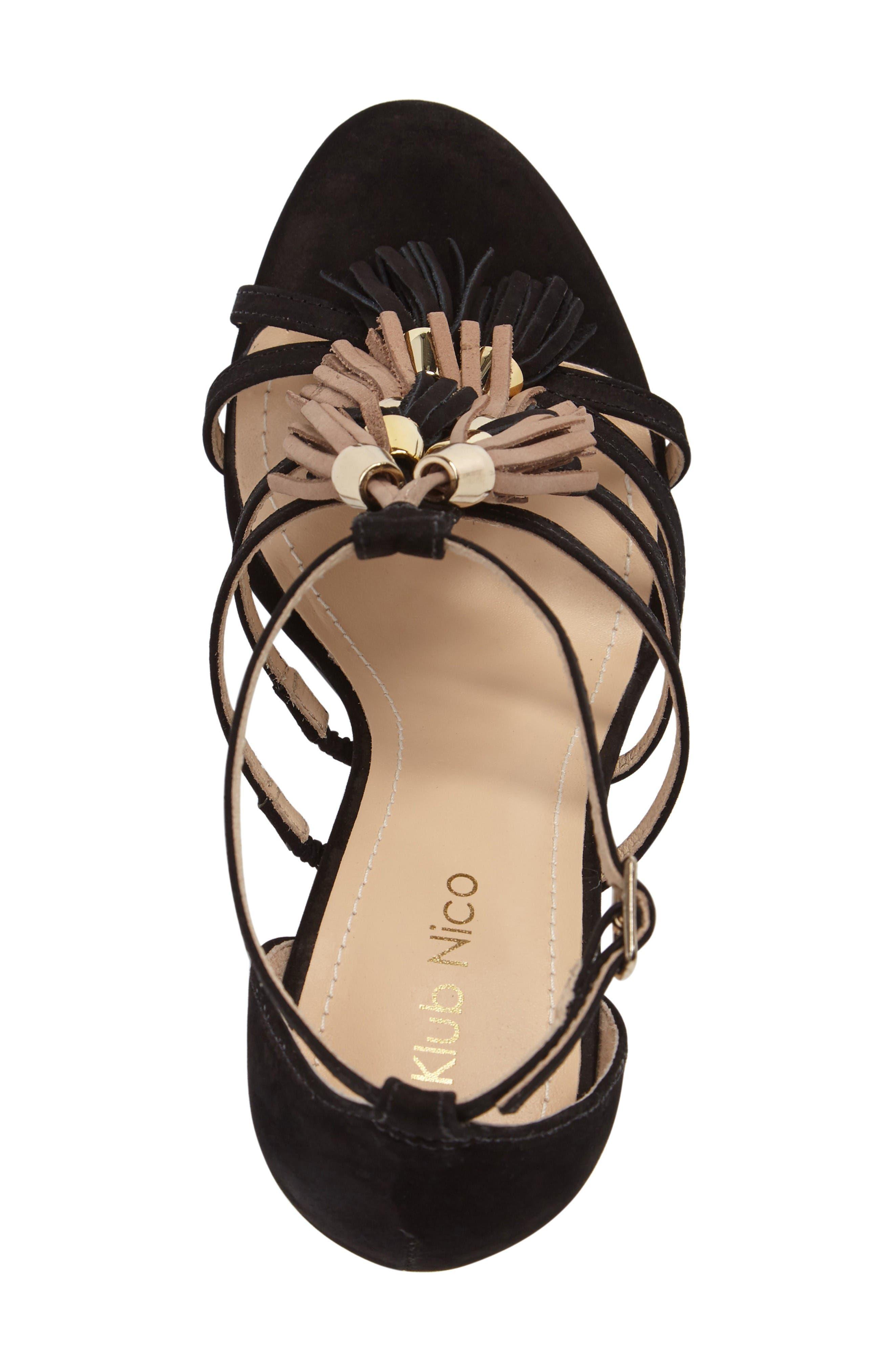 Alternate Image 5  - Klub Nico Myra Tassel Sandal (Women)