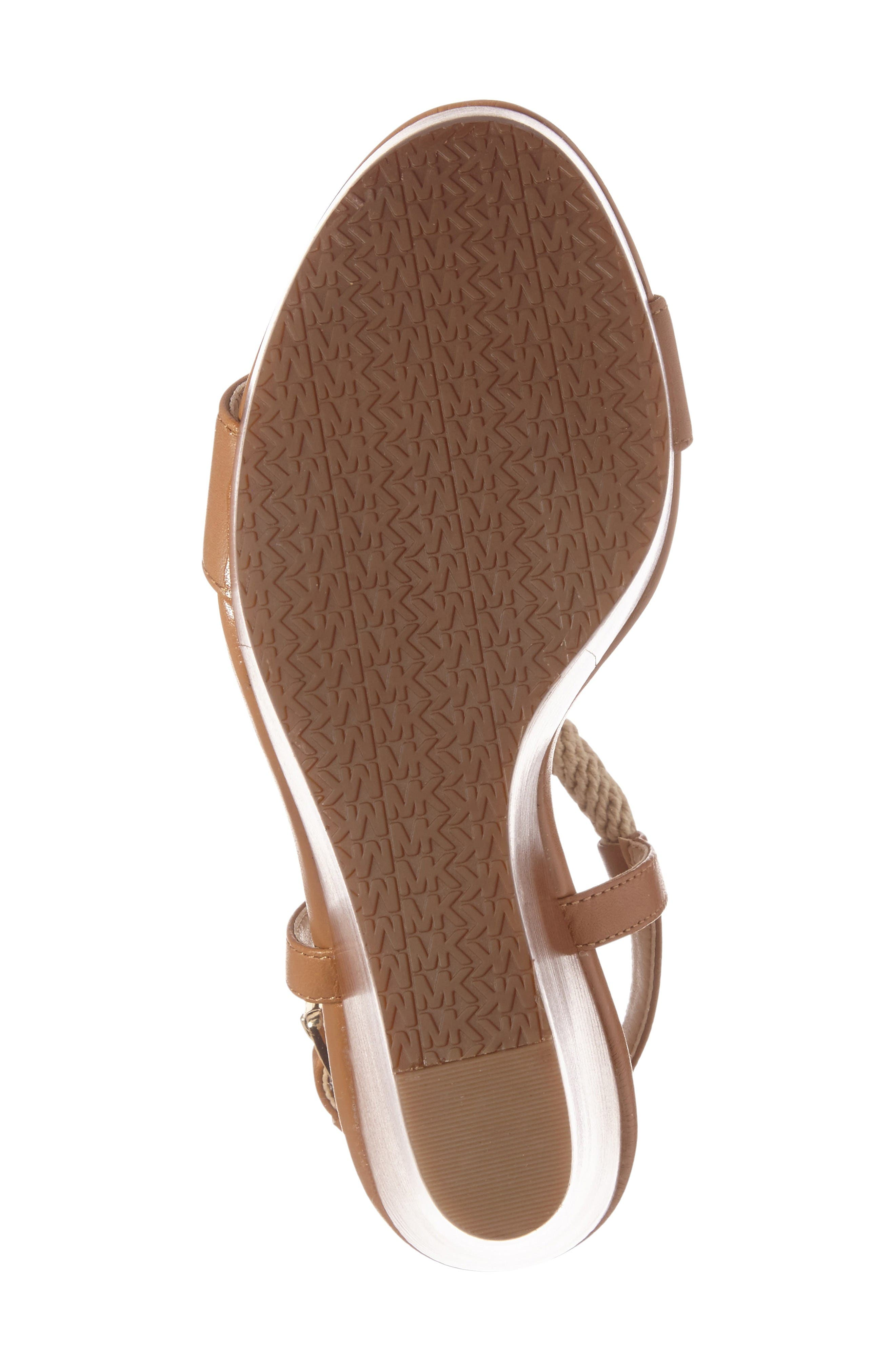 Alternate Image 6  - MICHAEL Michael Kors 'Holly' Espadrille Wedge Sandal (Women)