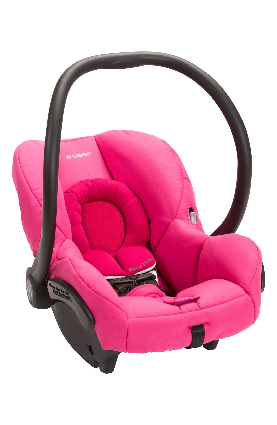 Mico Max 30 Infant Car Seat,                             Alternate thumbnail 2, color,                             Pink Berry
