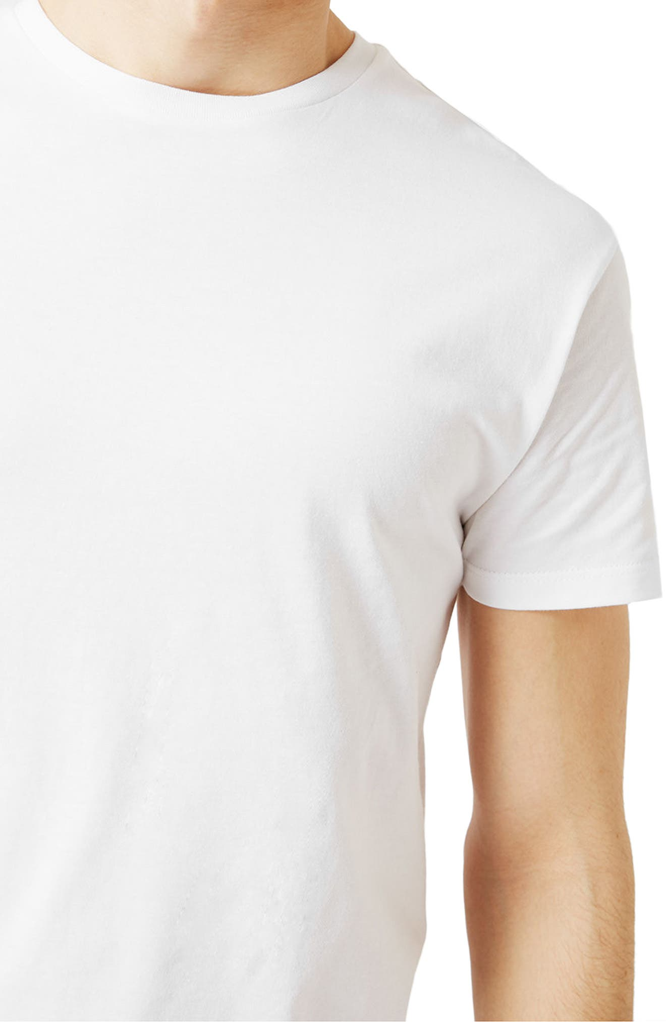 Alternate Image 4  - Topman Muscle Fit Longline T-Shirt