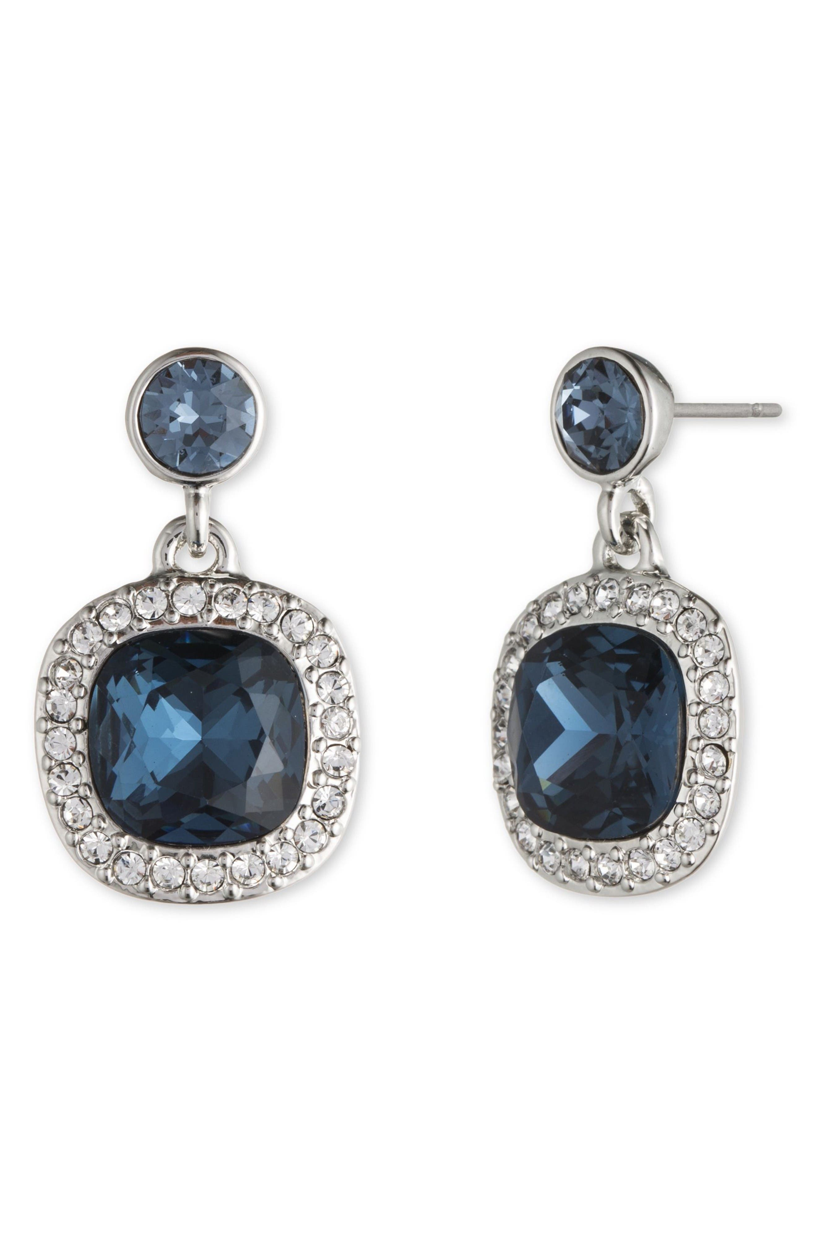 Alternate Image 1 Selected - Givenchy Crystal Drop Earrings