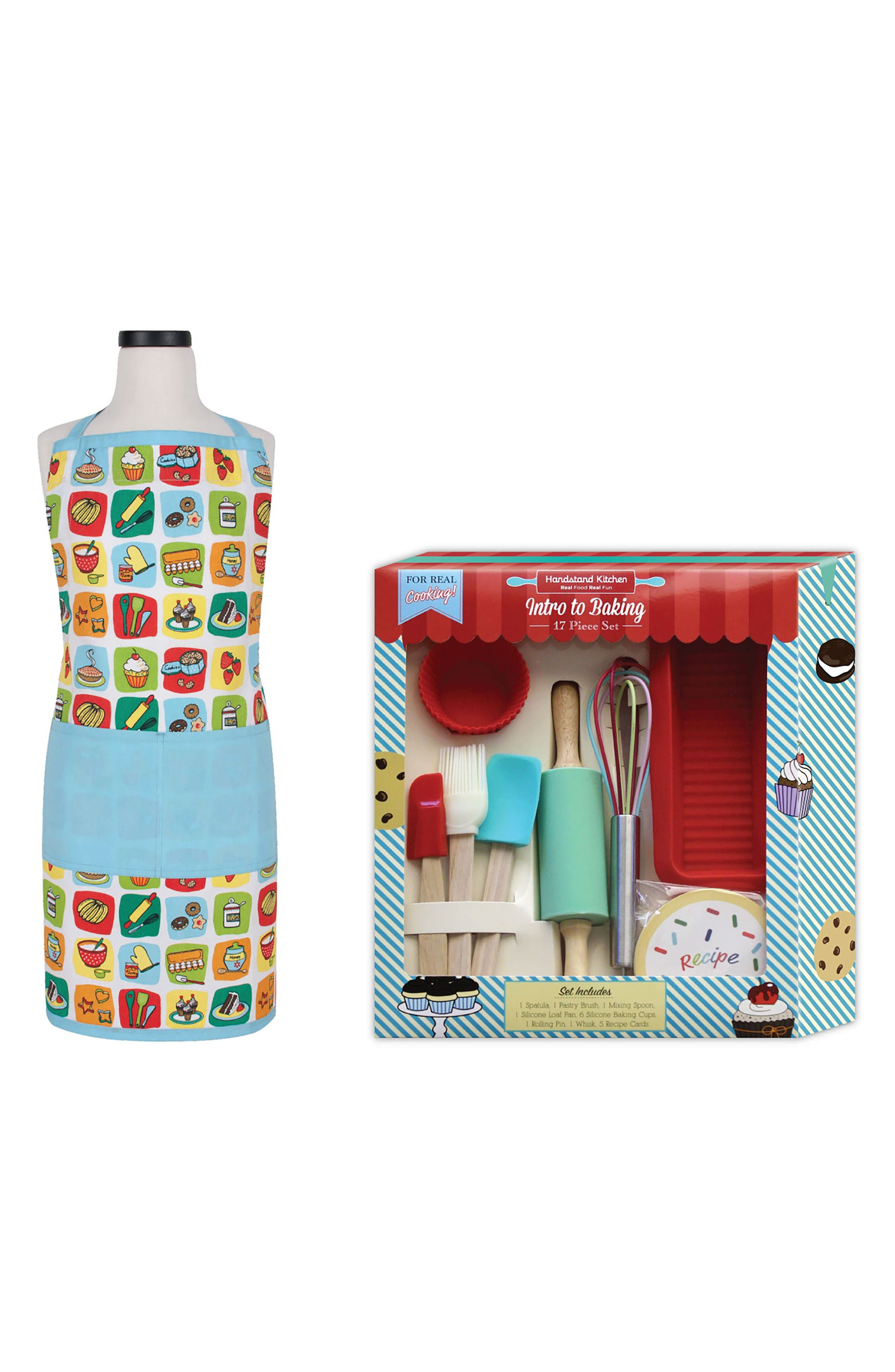 Alternate Image 1 Selected - Handstand Kids Intro to Baking Kit & Apron Set