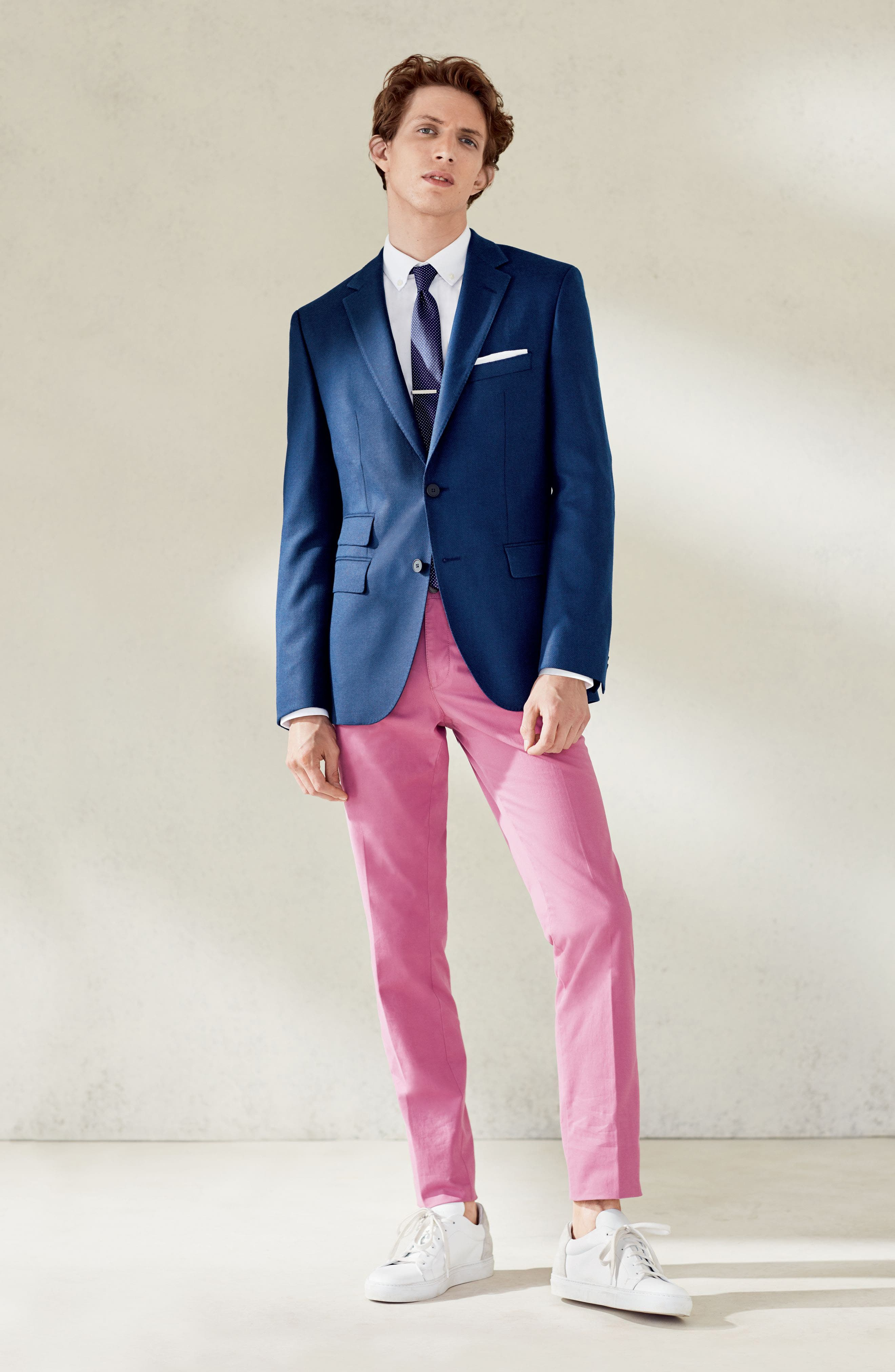 Alternate Image 3  - BOSS Dot Silk Skinny Tie